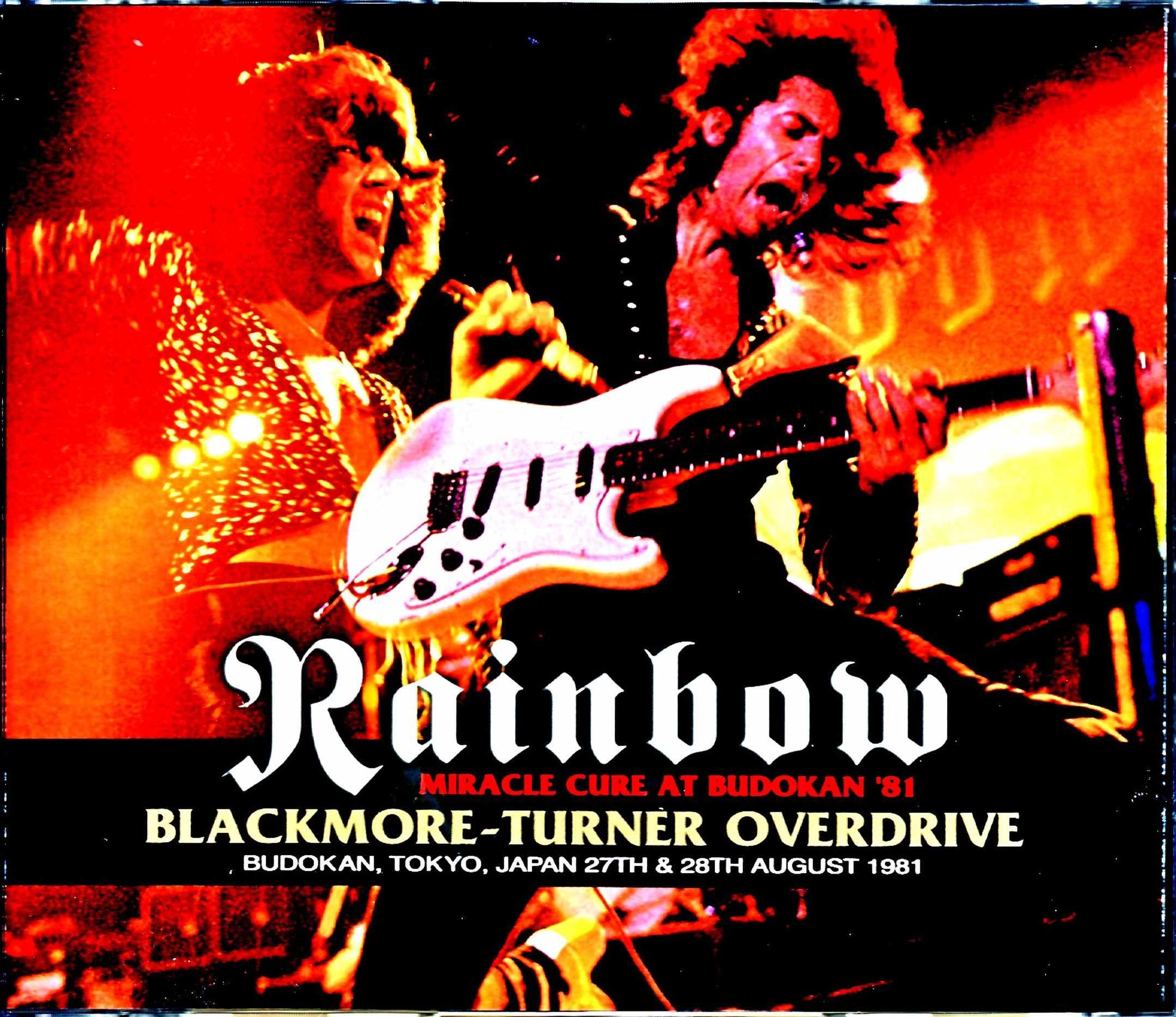 Rainbow レインボー/Tokyo,Japan 1981 2Days