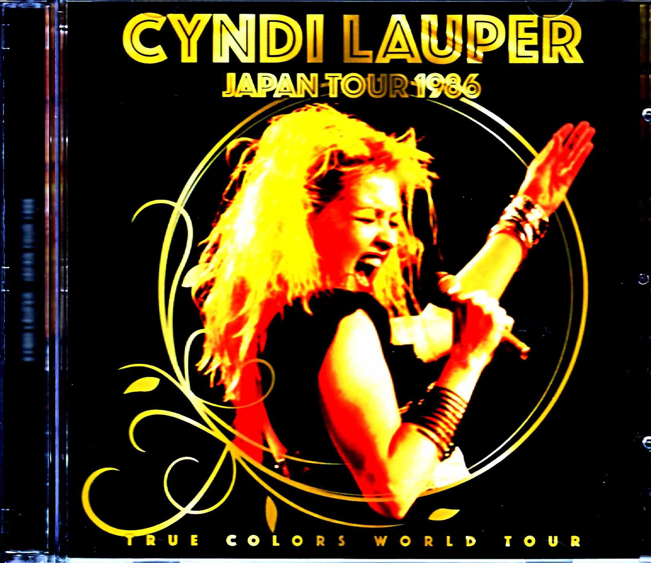 Cyndi Lauper シンディ・ローパー/Tokyo,Japan 0986 SBD + Ambient Mic Mix