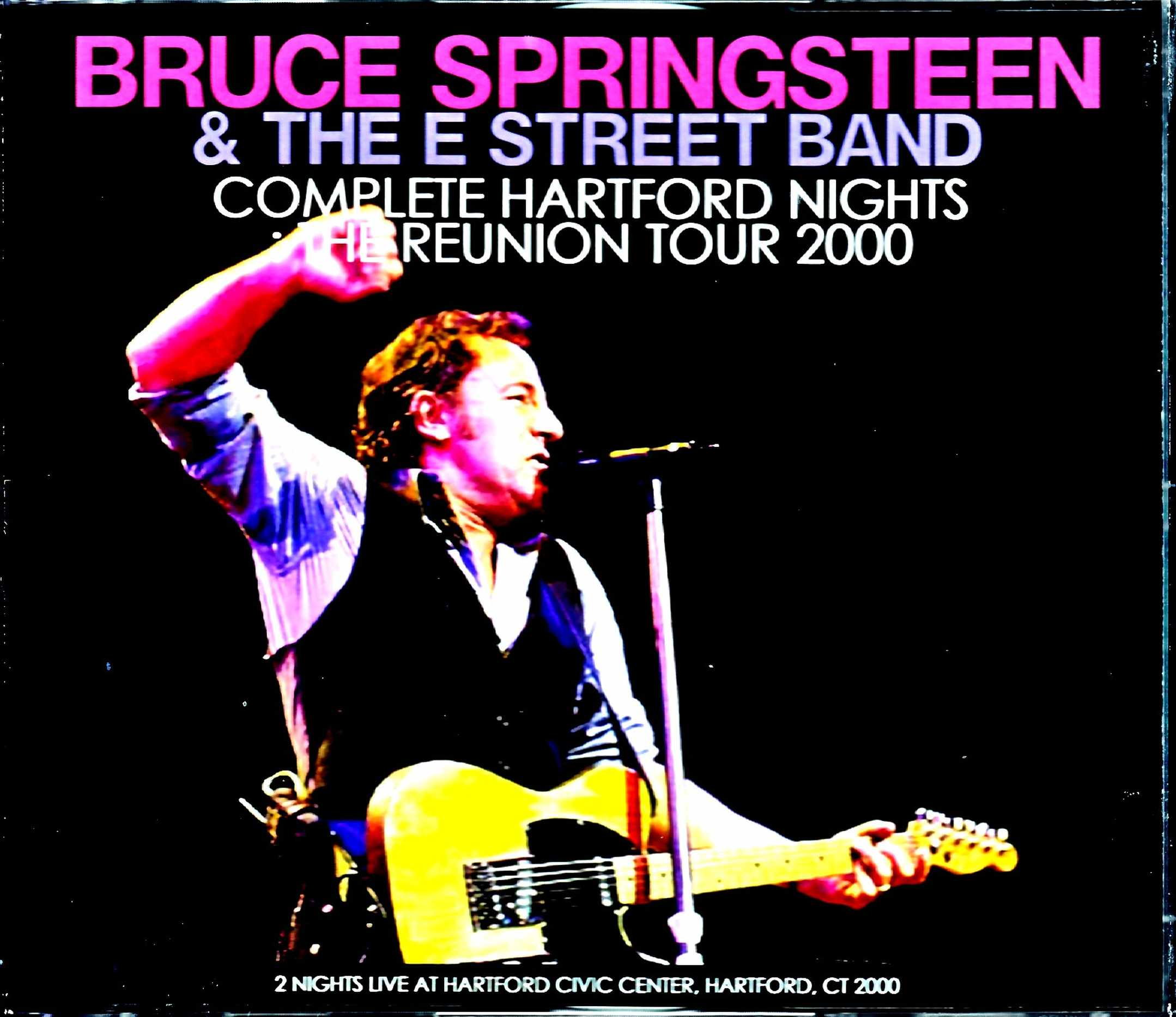 Bruce Springsteen & the E Street Band ブルース・スプリングスティーン/CT,USA 2000 2Days Complete