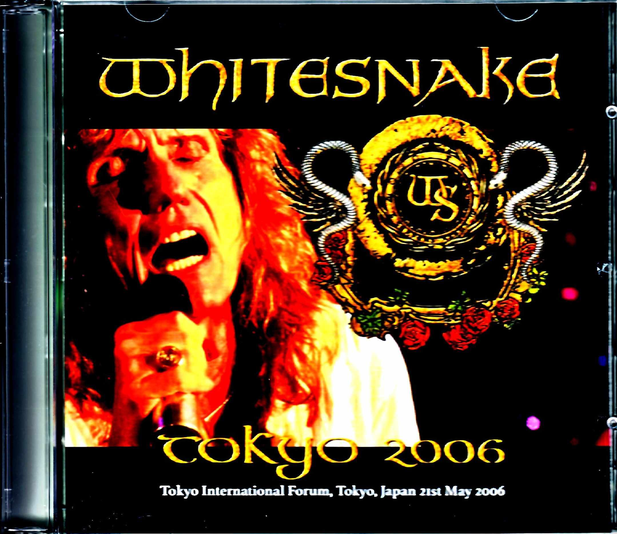 Whitesnake ホワイトスネイク/Tokyo,Japan 5.21.2006