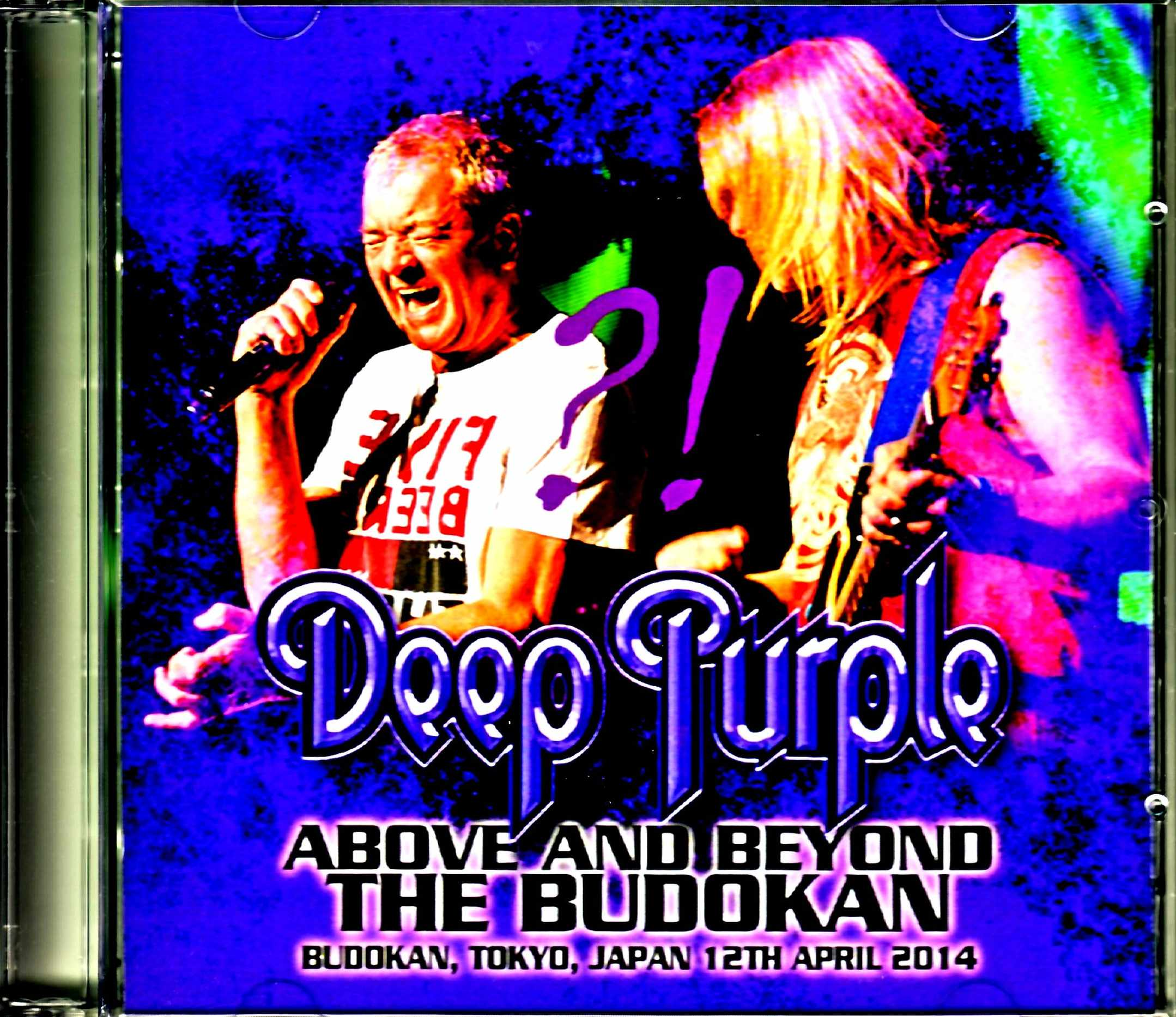 Deep Purple ディープ・パープル/Tokyo,Japan 4.12.2014 Complete