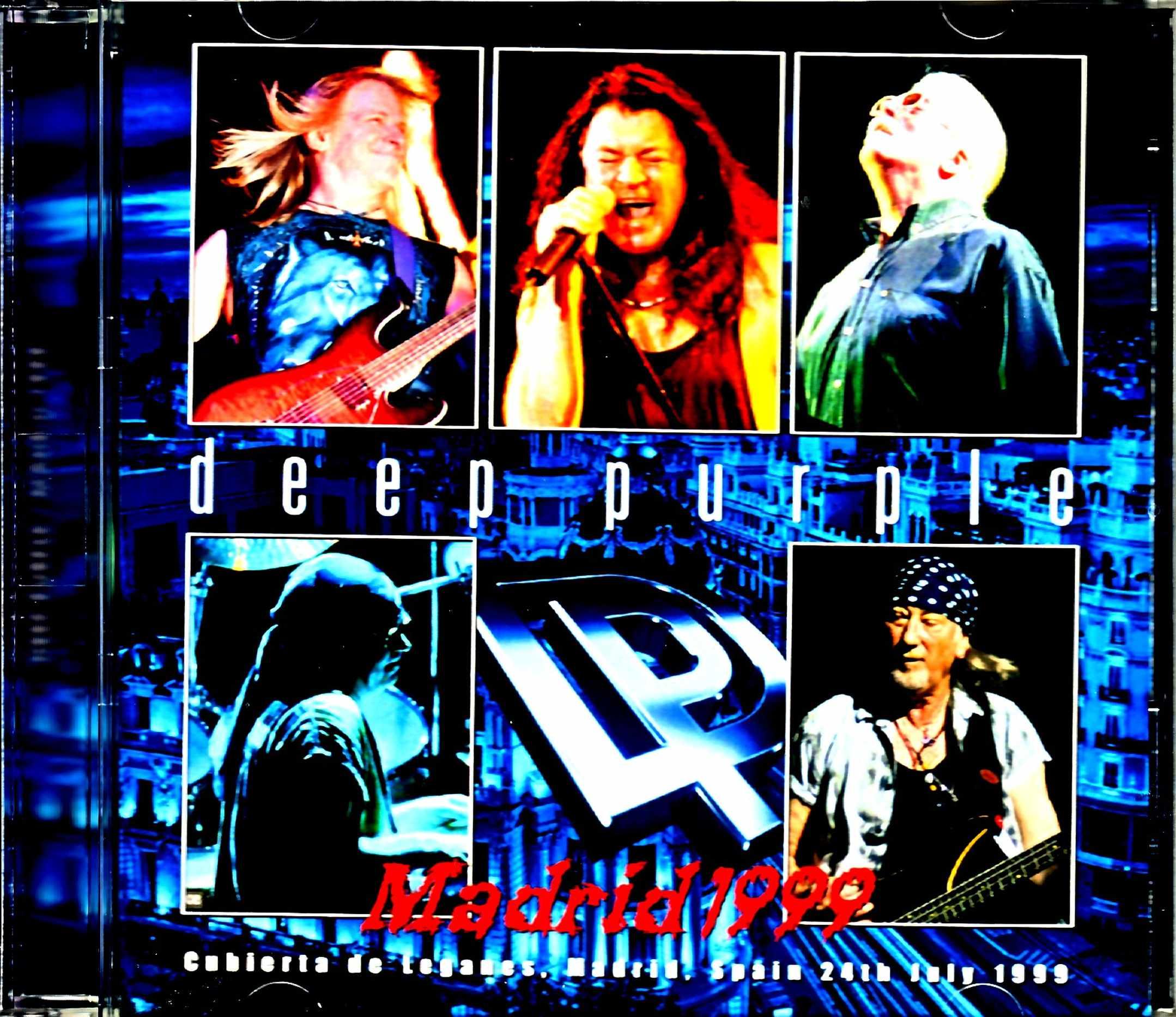 Deep Purple ディープ・パープル/Spain 1999