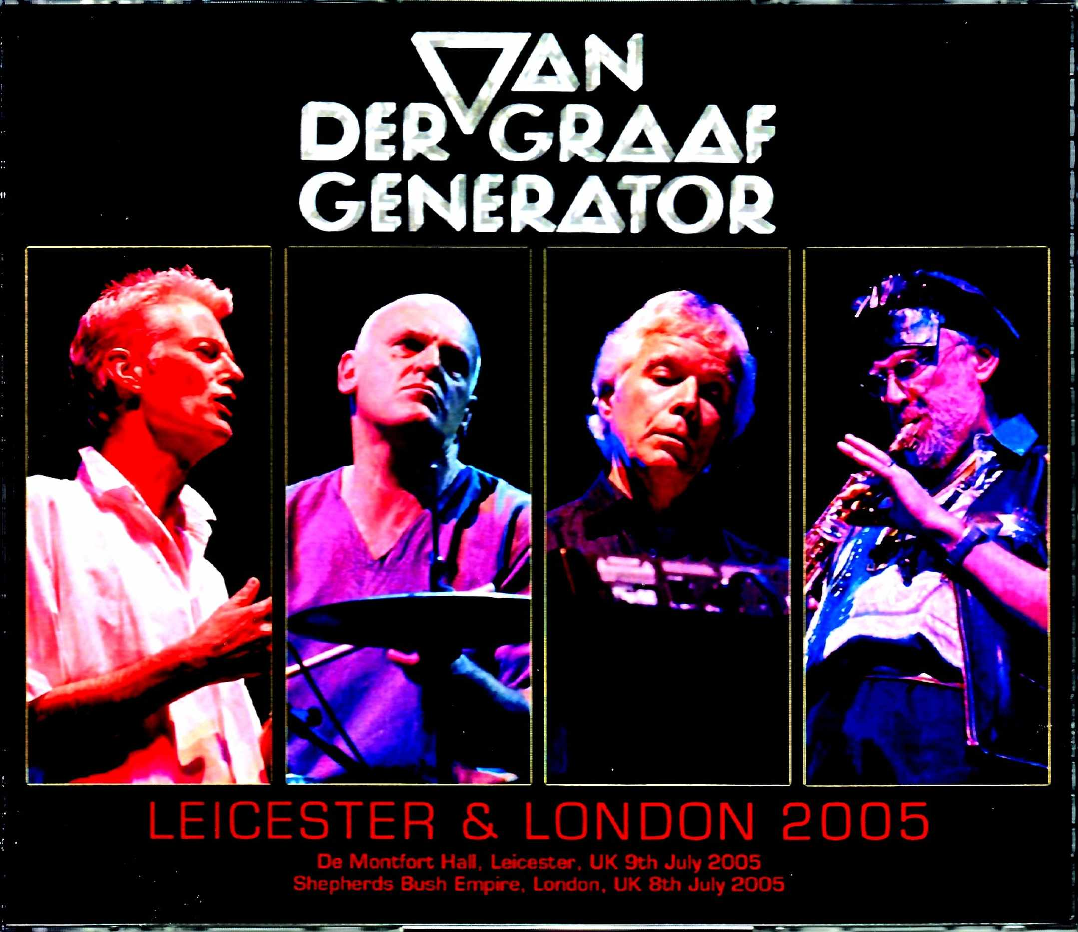 Van Der Graaf Generator ヴァン・ダー・グラーフ・ジェネレーター/London,UK 2005 & more