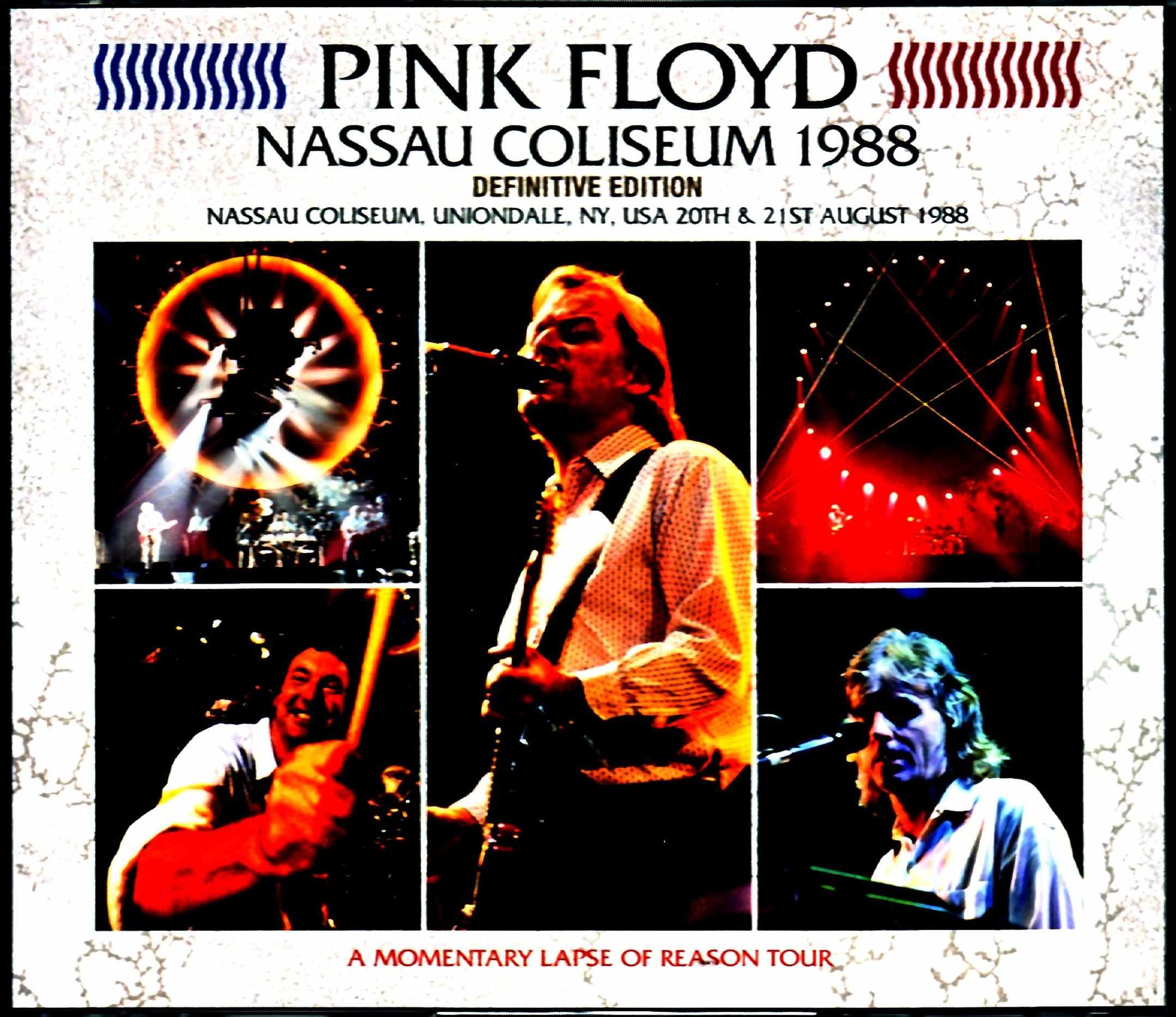 Pink Floyd ピンク・フロイド/NY,USA 1988 2Days Upgrade