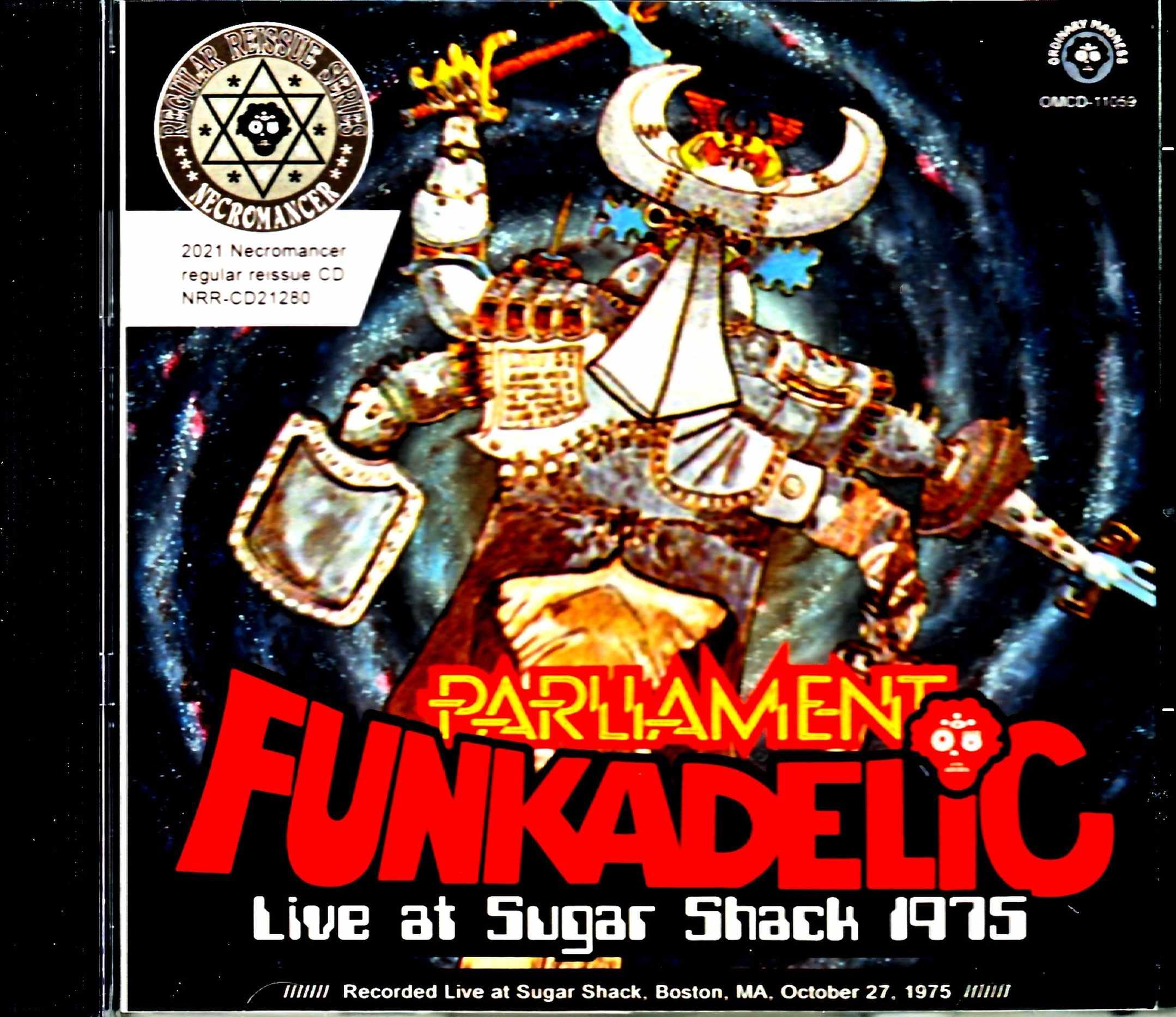 George Clinton Funkadelic Parliament ファンカデリック パーラペント/MA,USA 1975