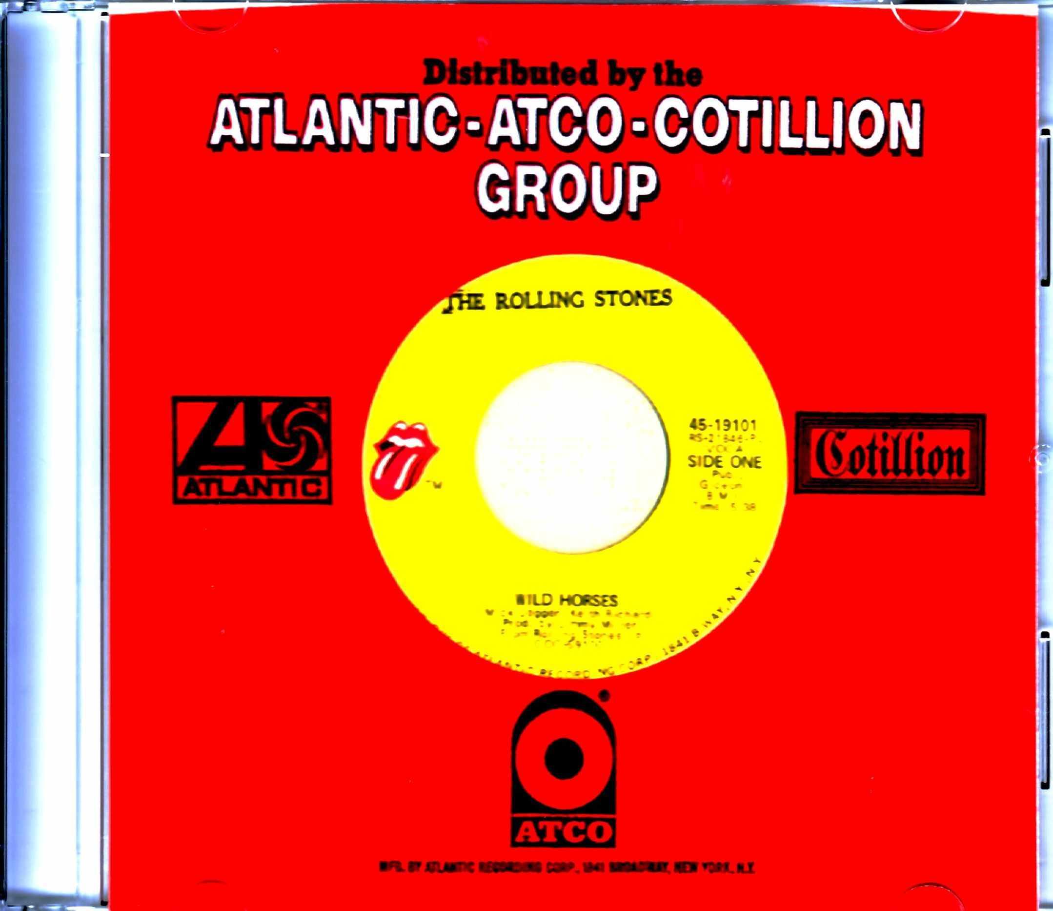 Rolling Stones ローリング・ストーンズ/Wild Horses US Original 7 inch Single Records