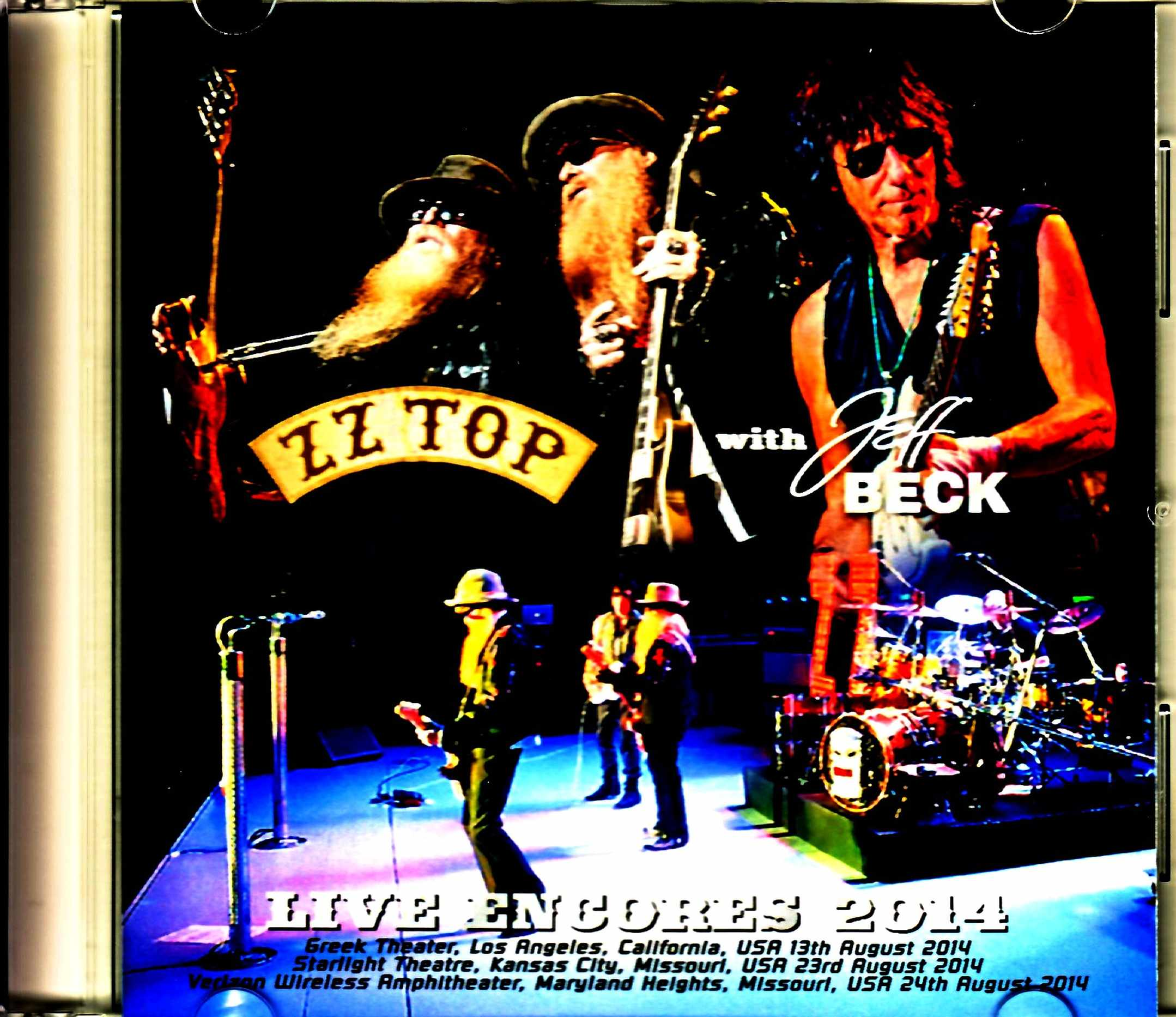 ZZ Top Jeff Beck ZZ・トップ ジェフ・ベック/Encores Collection 2014