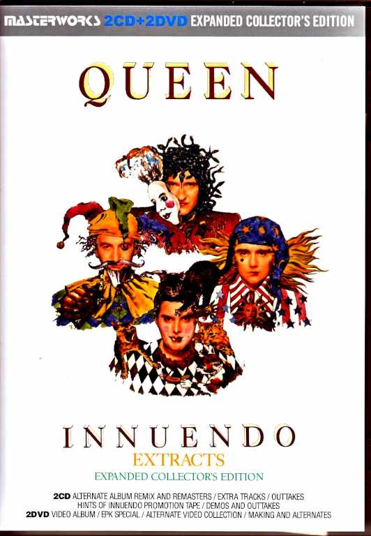 Queen クィーン/イニュエンドウ Innuendo Extracts Expanded Collector's Edition