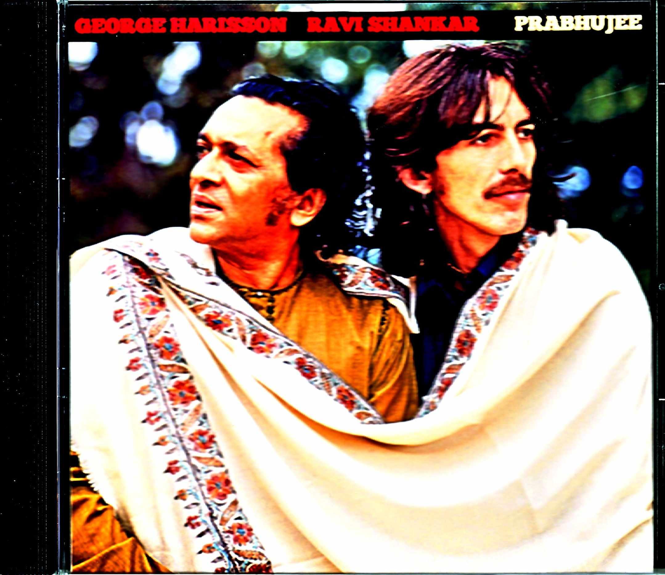 George Harrison Ravi Shankar ジョージ・ハリソン/Various Studio and TV Sources
