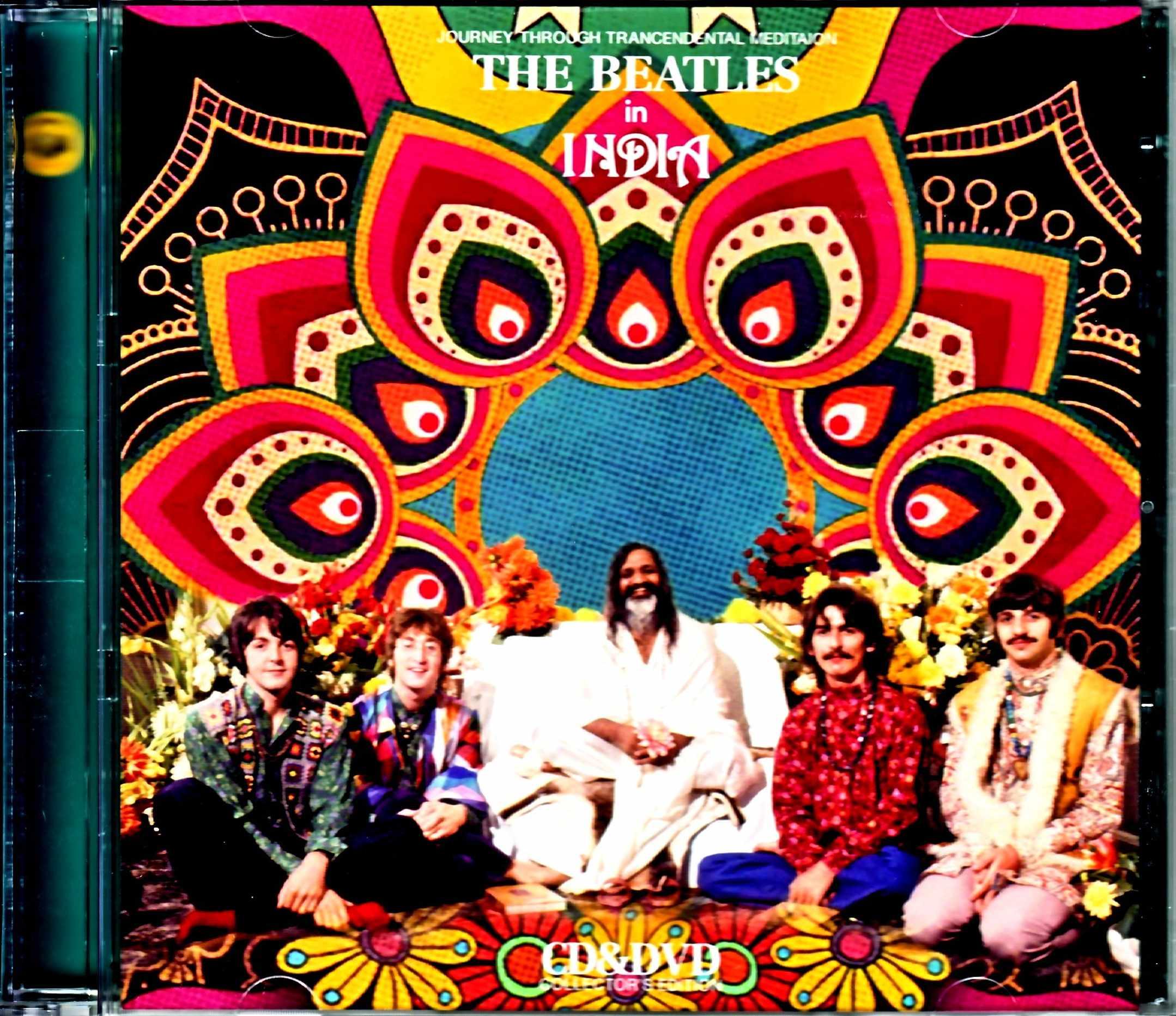 Beatles ビートルズ/インドへの瞑想の旅 in India Compilation 1968