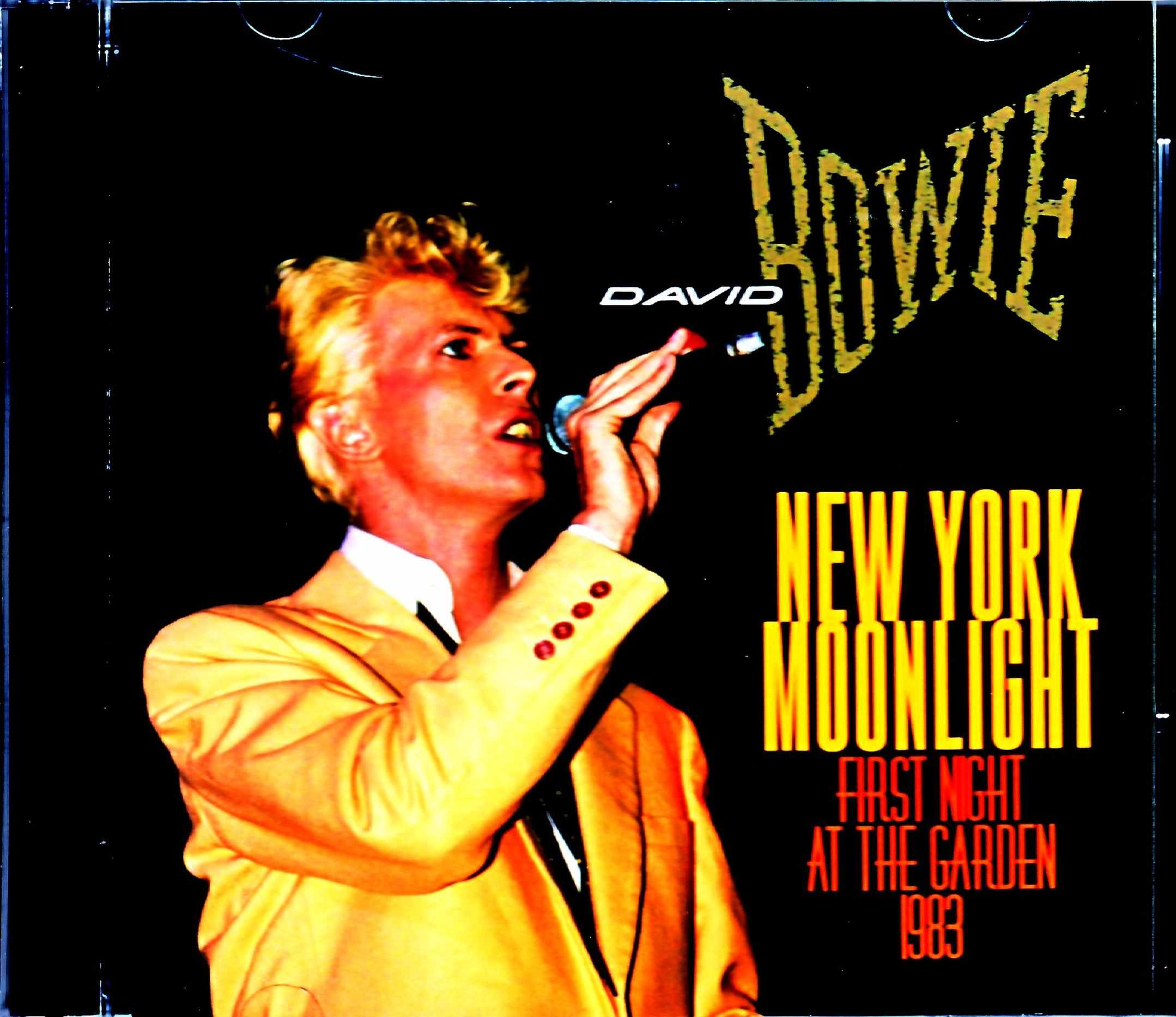 David Bowie デビッド・ボウイ/NY,USA 1983
