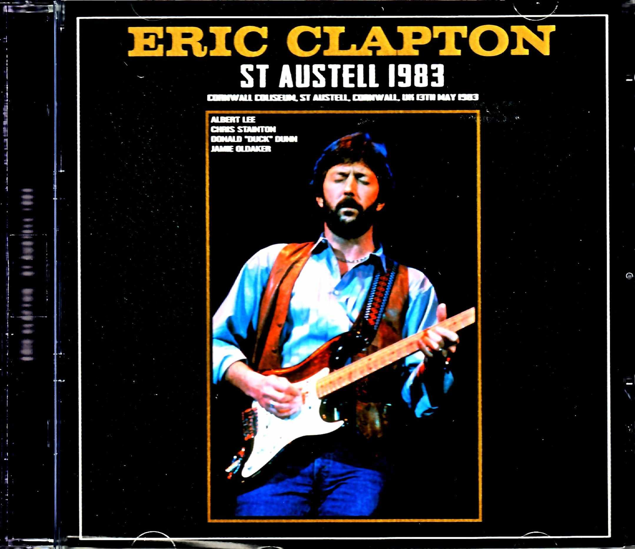 Eric Clapton エリック・クラプトン/England,UK 1983