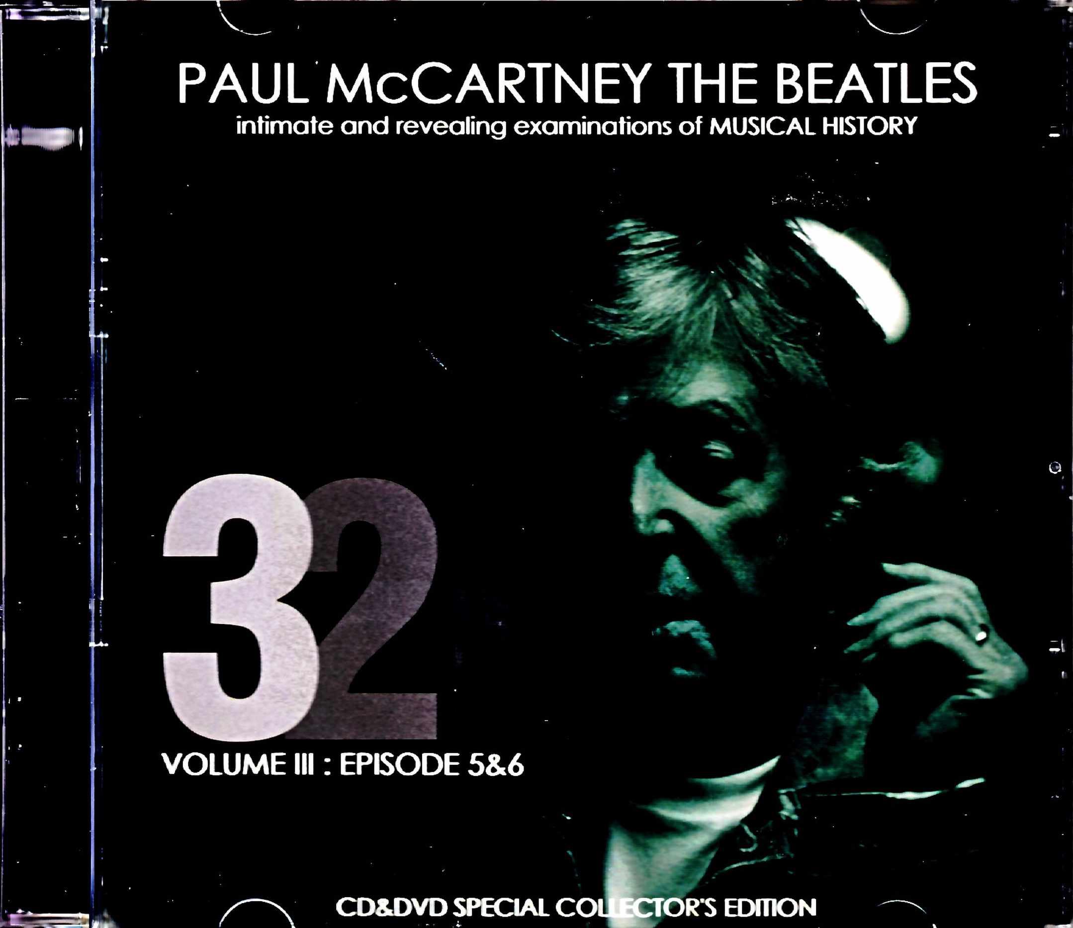 Paul McCartney Beatles ポール・マッカートニー ビートルズ/321 Intimate and Revealing of Music History Vol.3