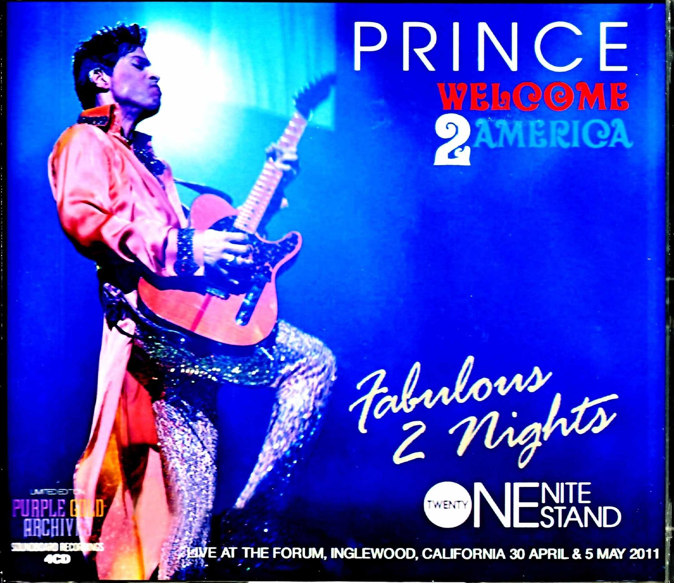 Prince Sheila E.,Gwen Stefani,Whitney Houston プリンス ホイットニー・ヒューストン/CA,USA 4.30 & 5.5.2011 Complete