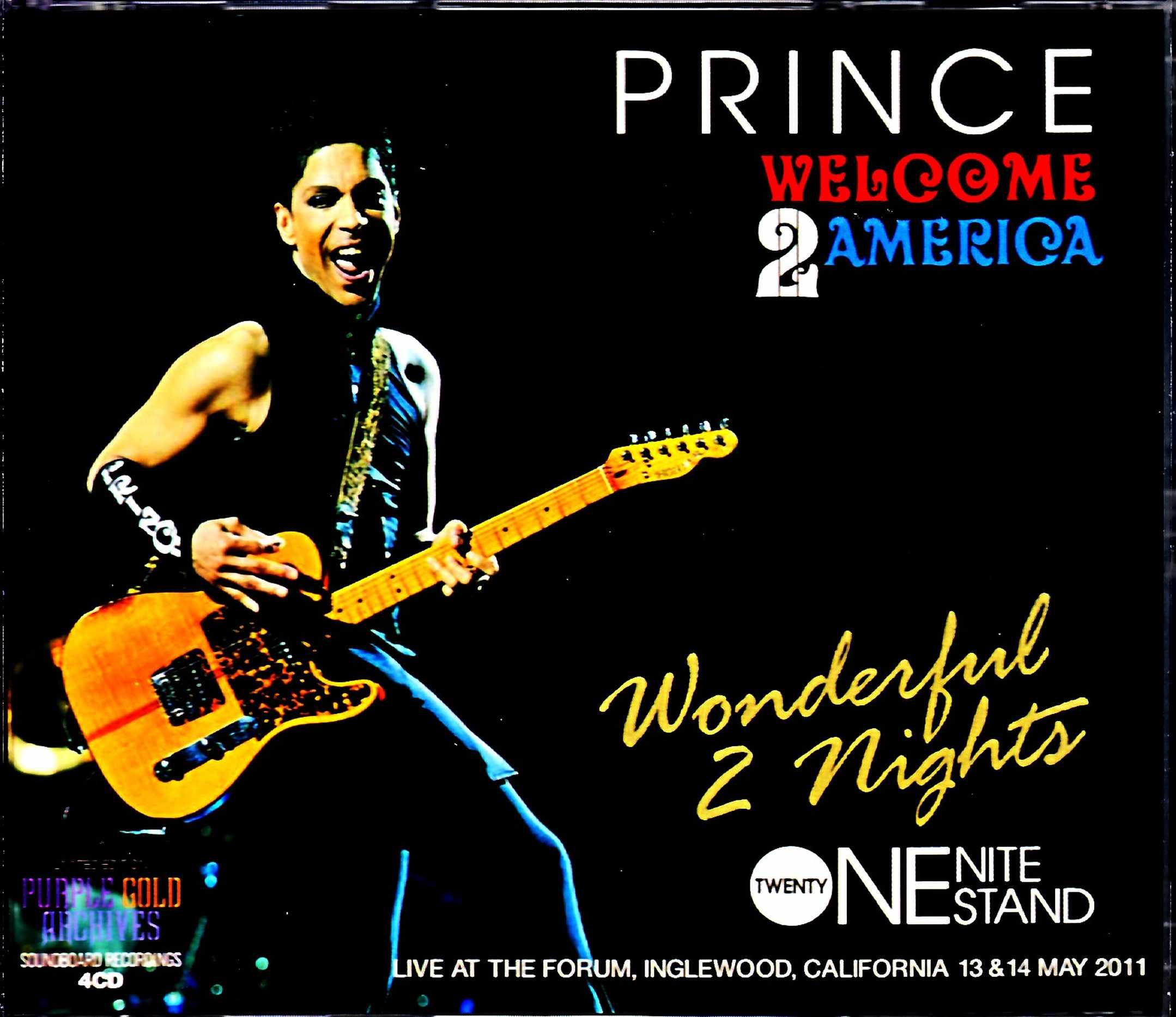 Prince Sheila E.,Stevie Wonder プリンス スティーヴィー・ワンダー/CA,USA 5.13 & 5.14.2011 Complete