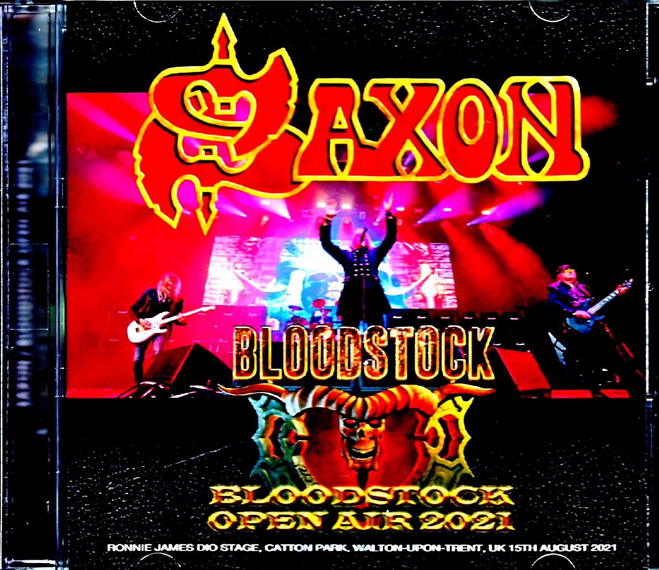 Saxon サクソン/England,UK 2021