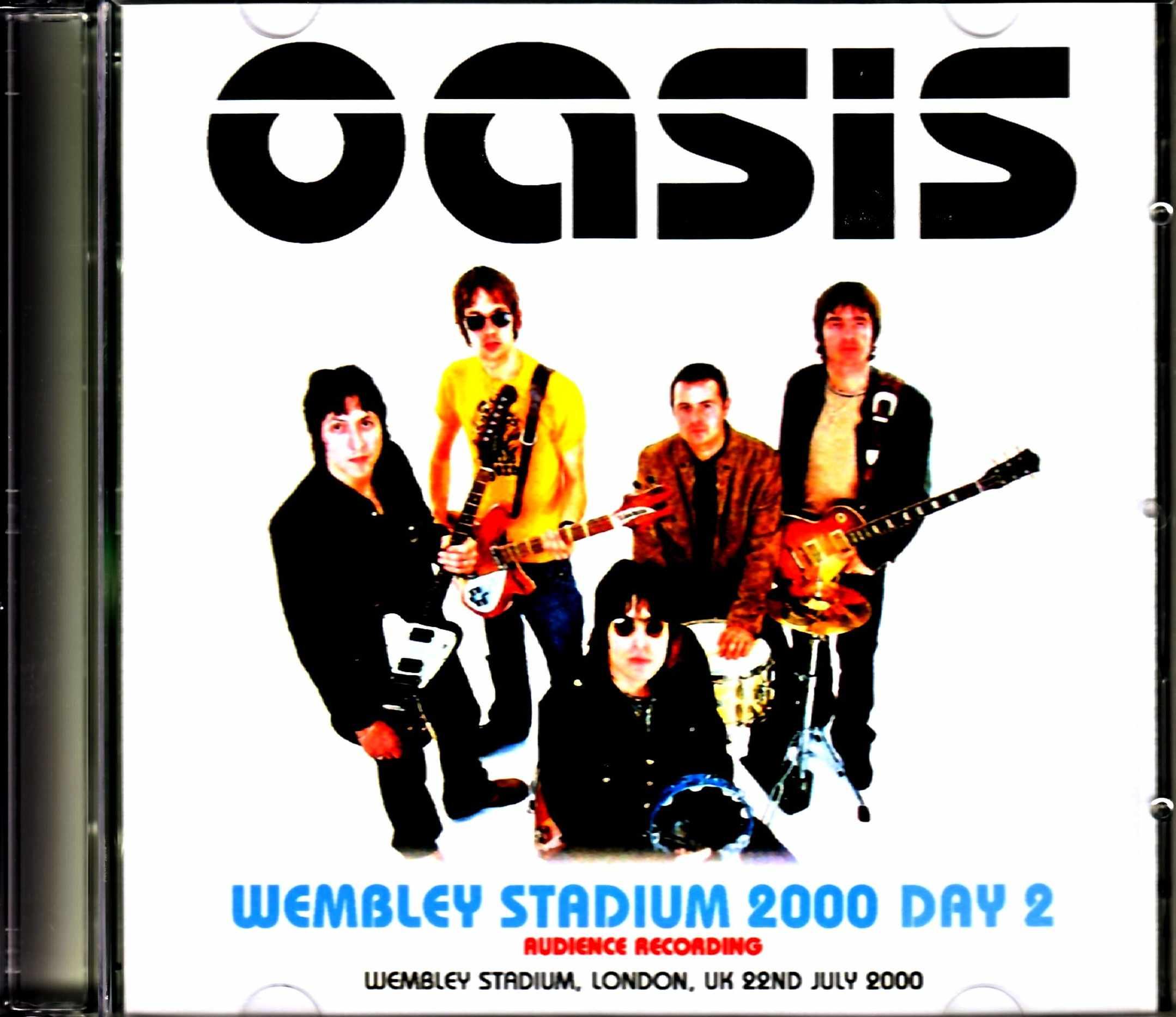 Oasis オアシス/London,UK 2000