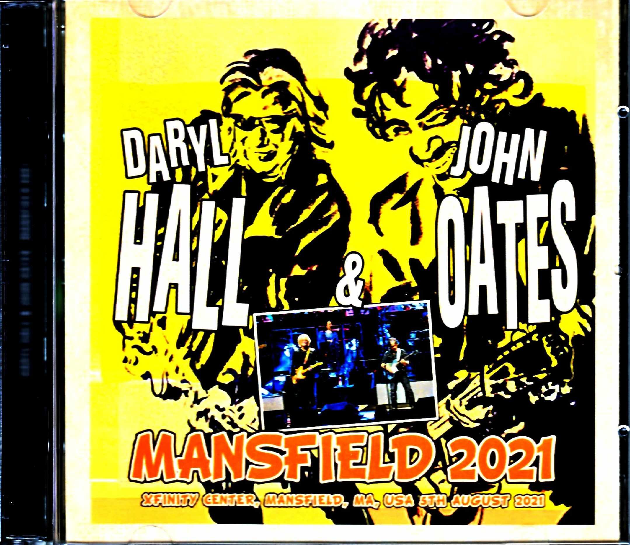 Hall & Oates ホール・アンド・オーツ/MA,USA 2021