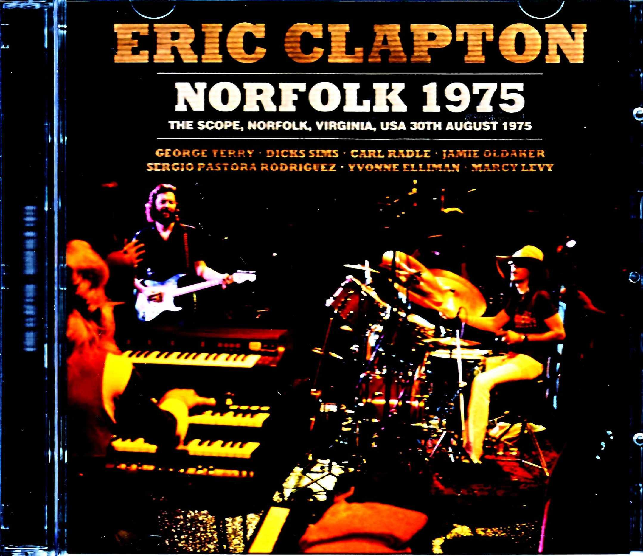 Eric Clapton エリック・クラプトン/VA,USA 1975 Upgrade