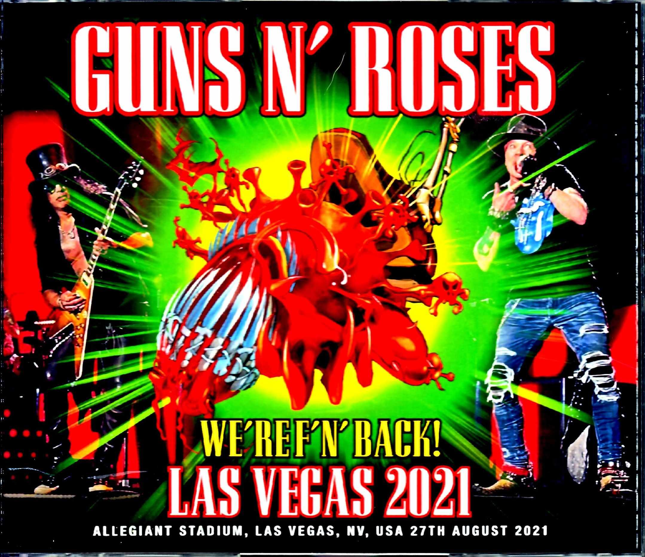 Guns N' Roses ガンズ・アンド・ローゼス/NV,USA 2021