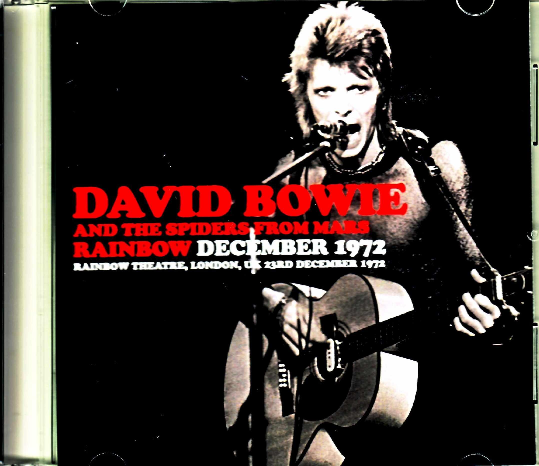 David Bowie デビッド・ボウイ/London,UK 12.23.1972
