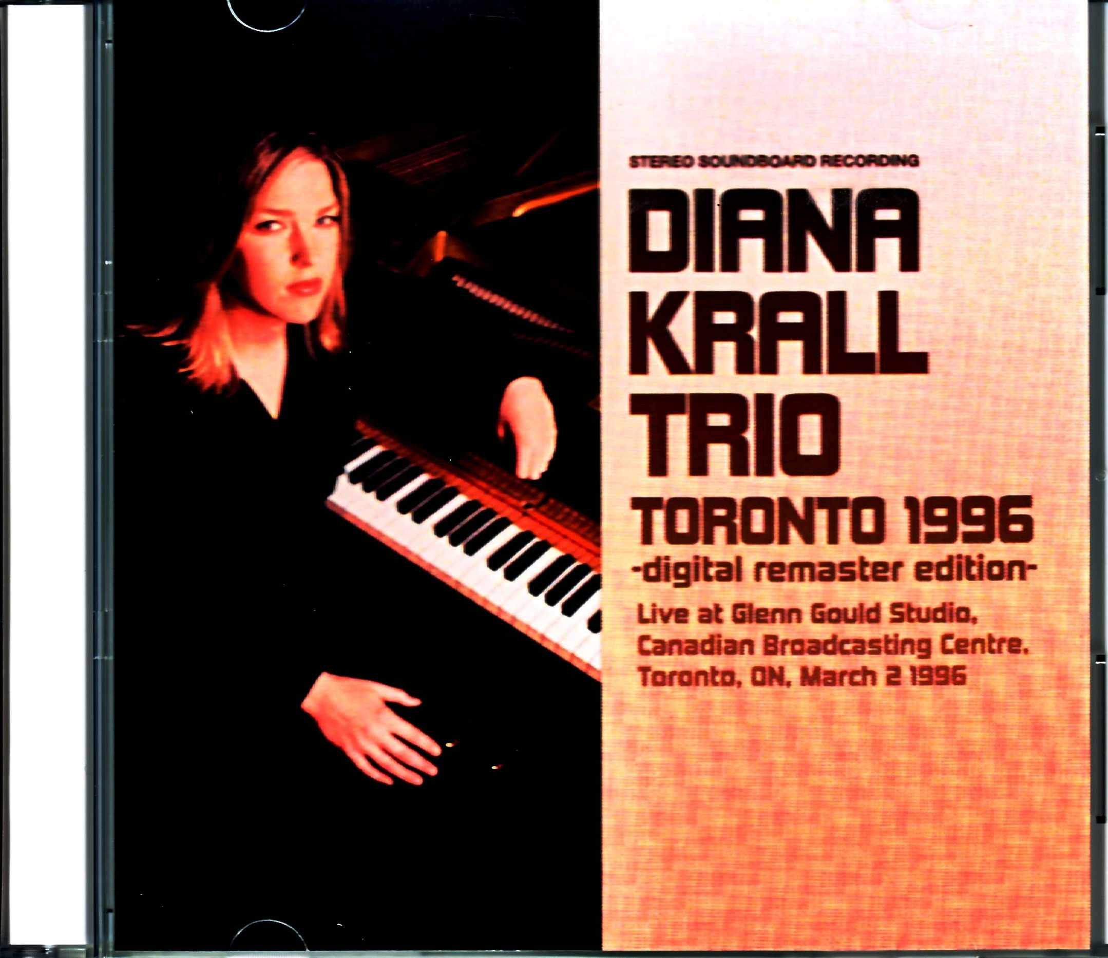 Diana Krall Trio ダイアナ・クラール/Canada 1996 2021 Digital Remaster