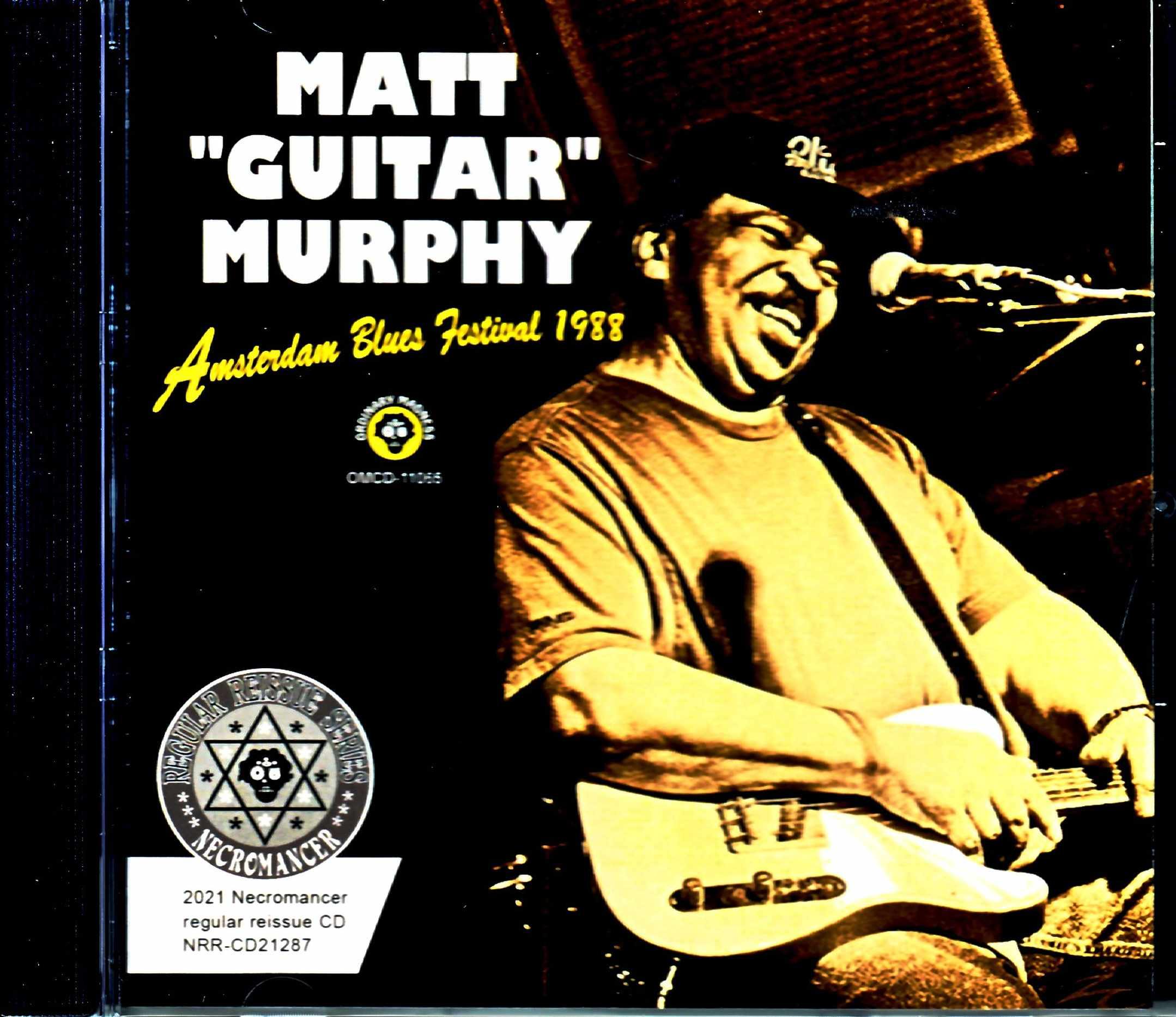 Matt Guitar Murphy マット・マーフィー/Netherlands 1988