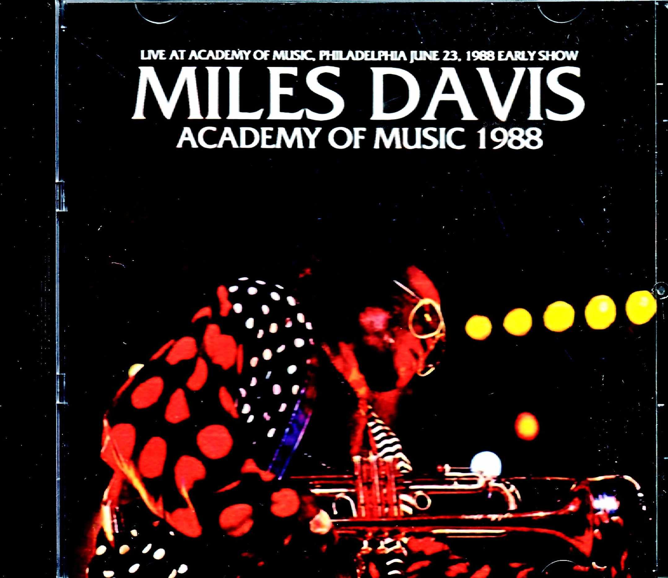 Miles Davis Kenny Garrett マイルス・デイビス ケニー・ギャレット/PA,USA 1988 Early Show