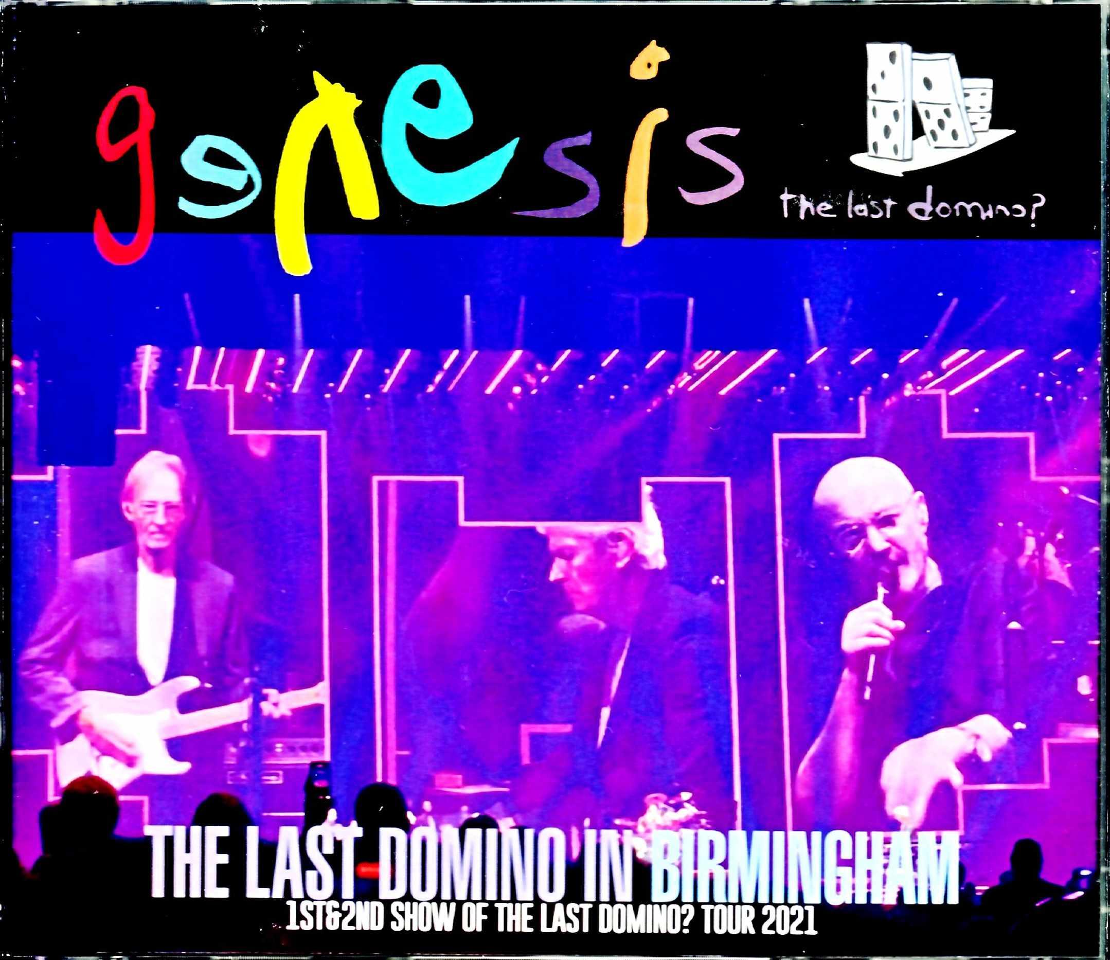 Genesis ジェネシス/England,UK 2021 2Days Complete