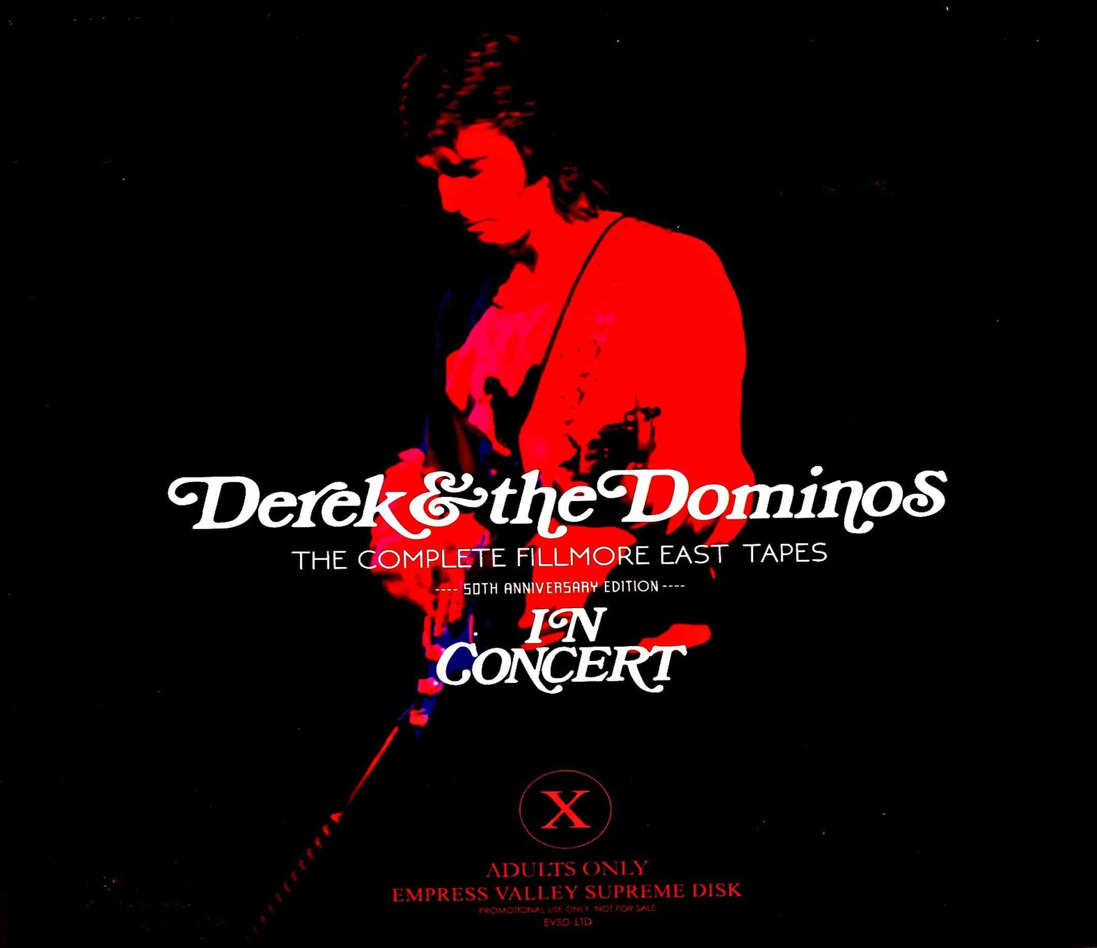 Derek & the Dominos デレク・アンド・ザ・ドミノス/名演フィルモアのライヴ 50周年 NY,USA 1970