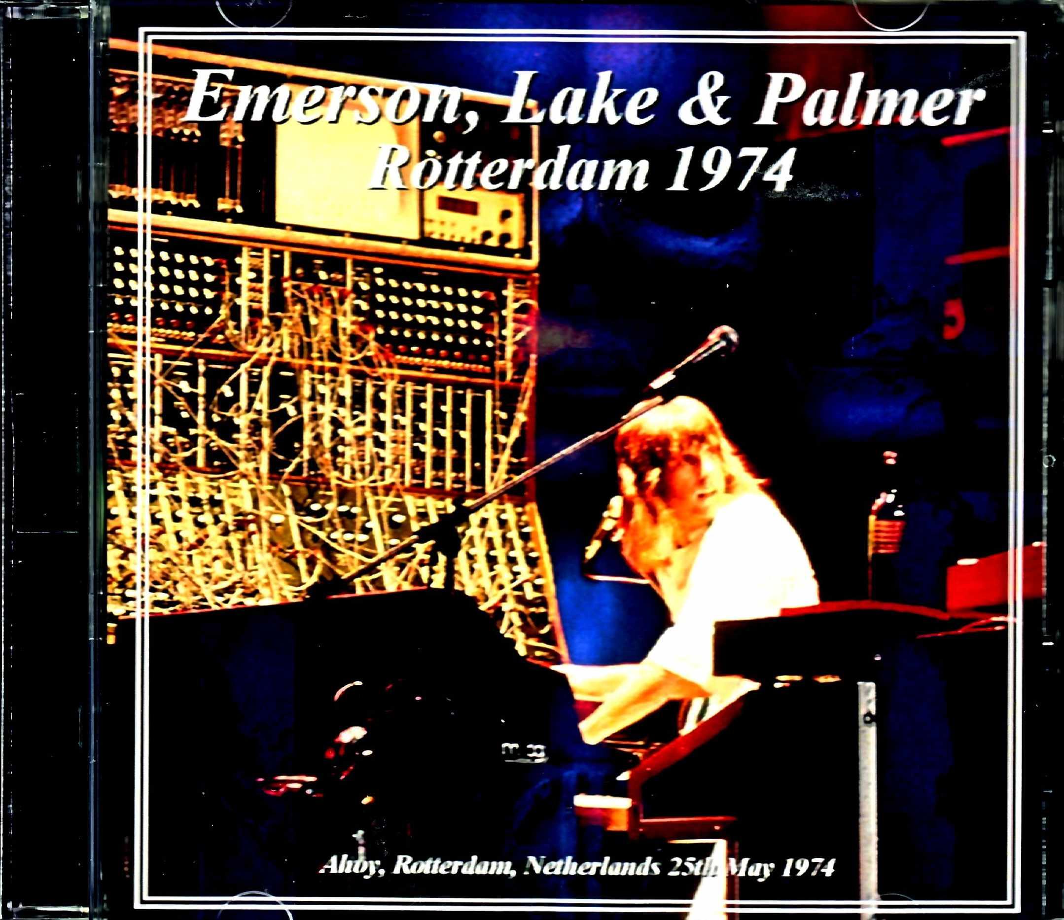 EL & P Emerson,Lake & Palmer エマーソン・レイク・アンド・パーマー/Netherlands 1974