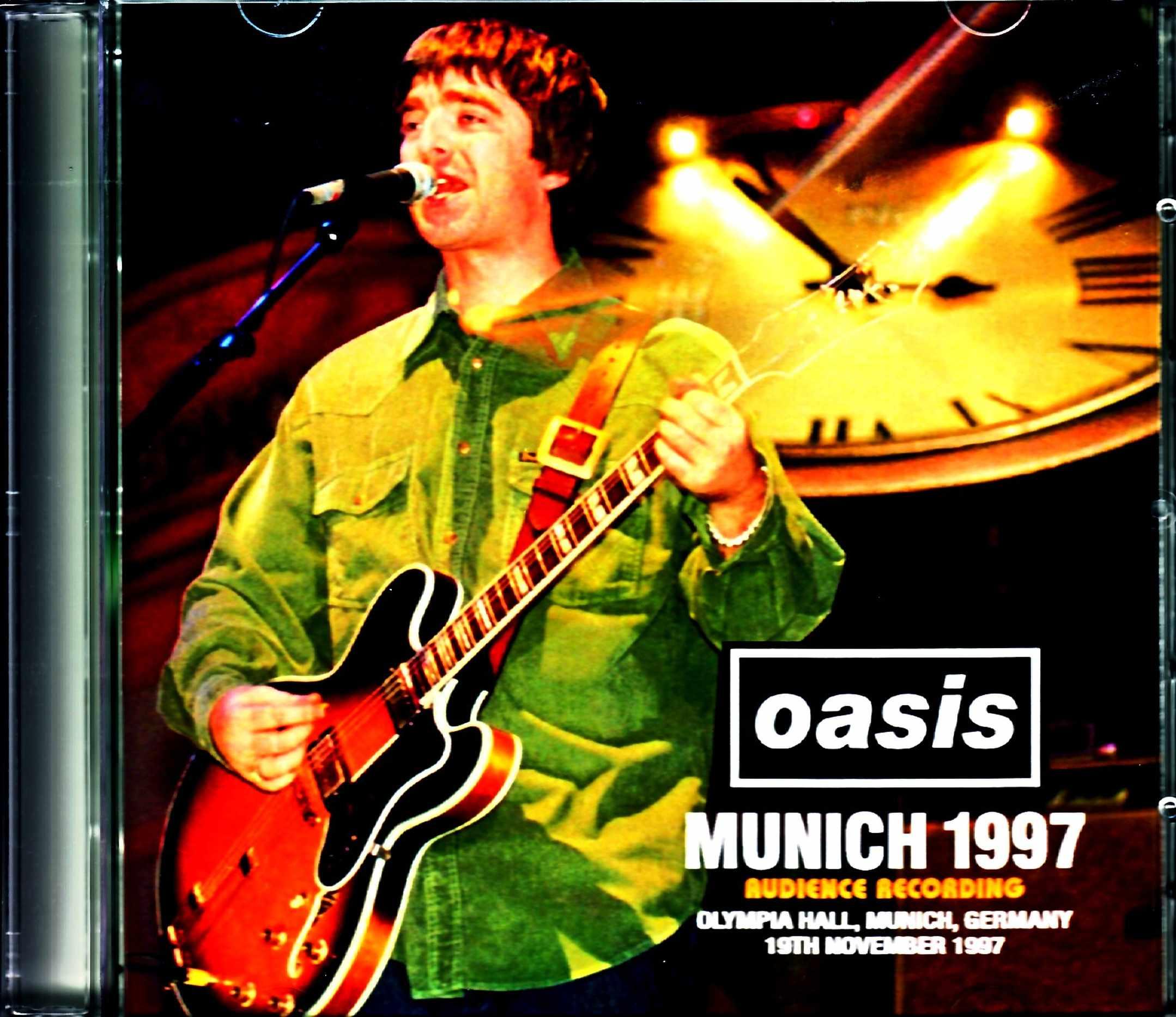 Oasis オアシス/Germany 11.19.1997 Audience Recording