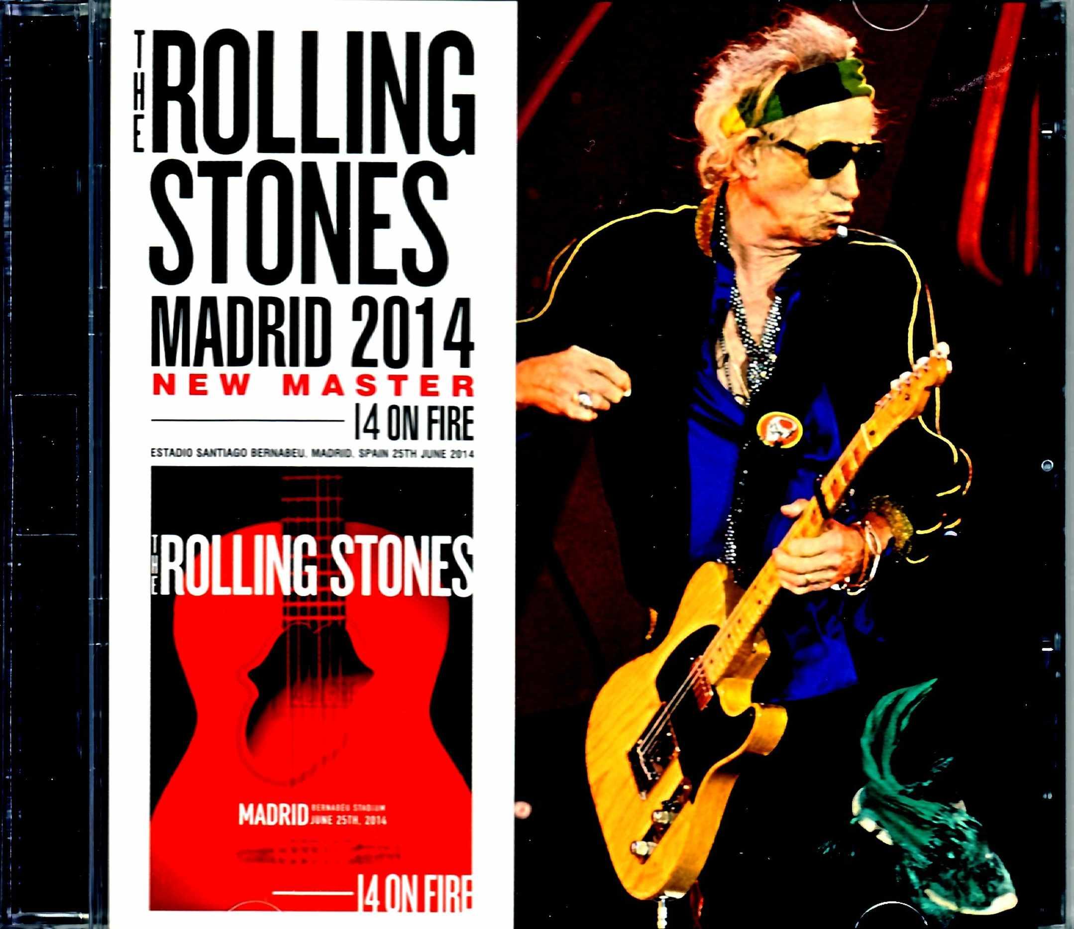 Rolling Stones ローリング・ストーンズ/Spain 2014 New Master