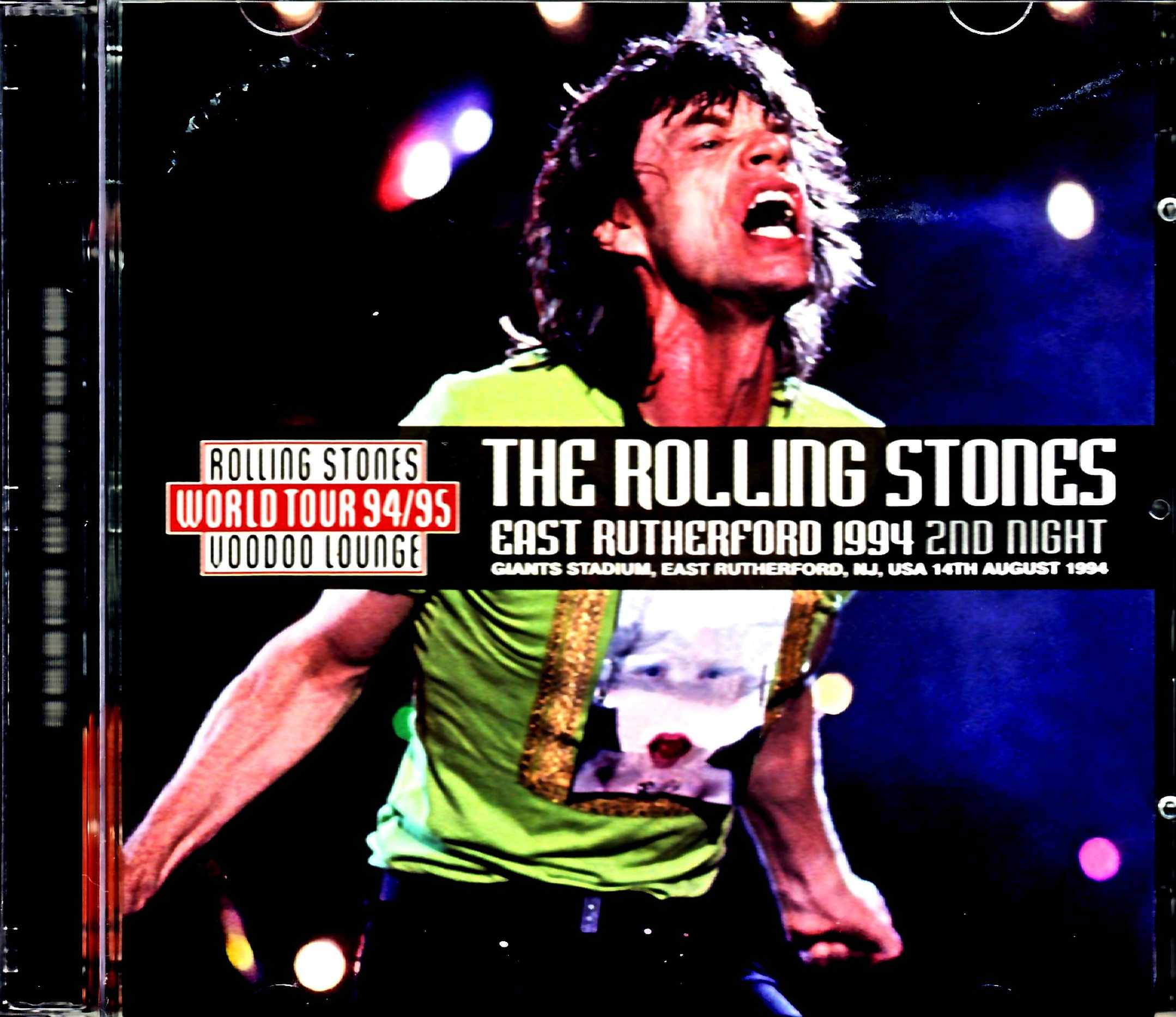 Rolling Stones ローリング・ストーンズ/NJ,USA 8.14.1994