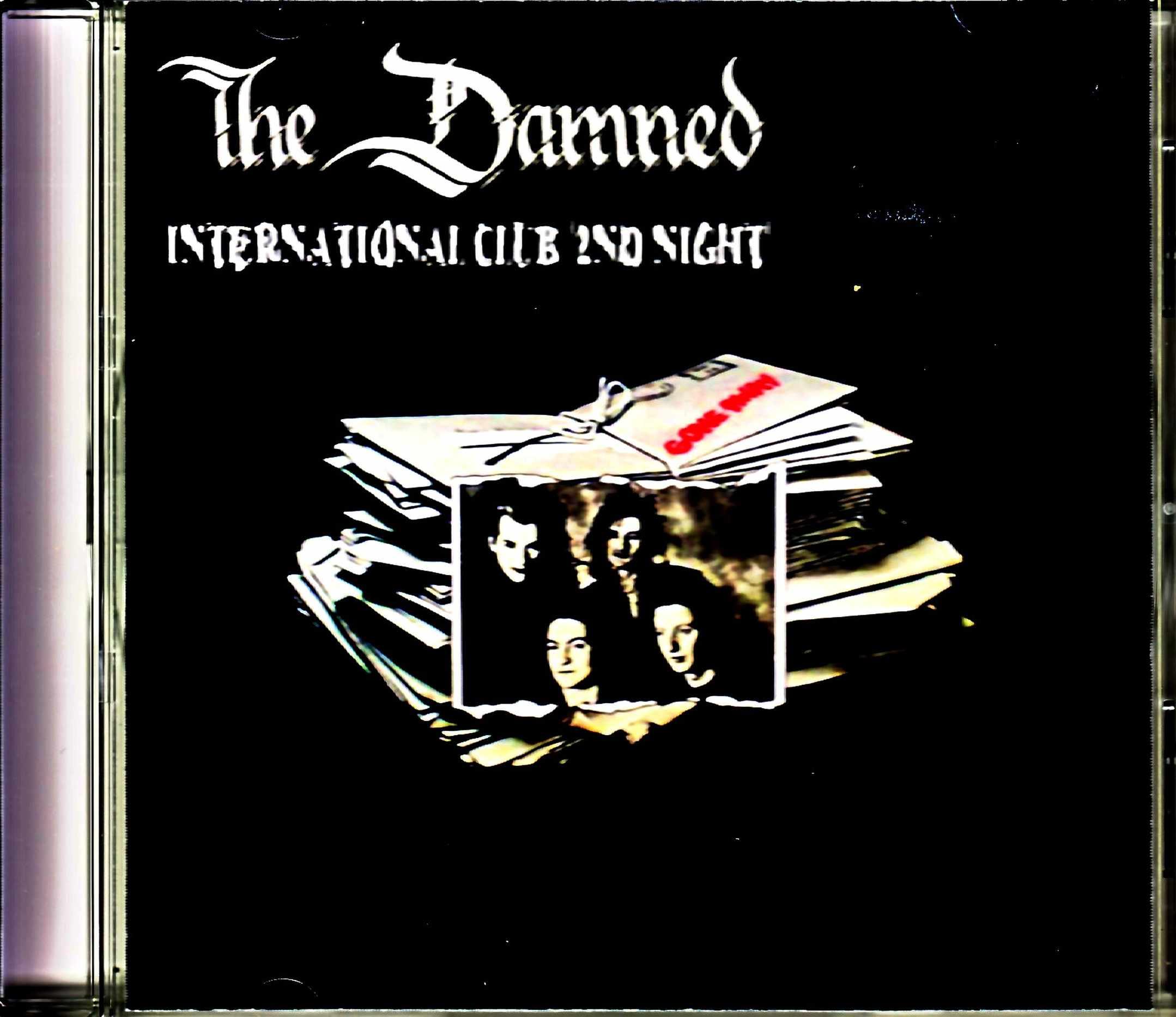 Damned ダムド/England,UK 12.21.1985