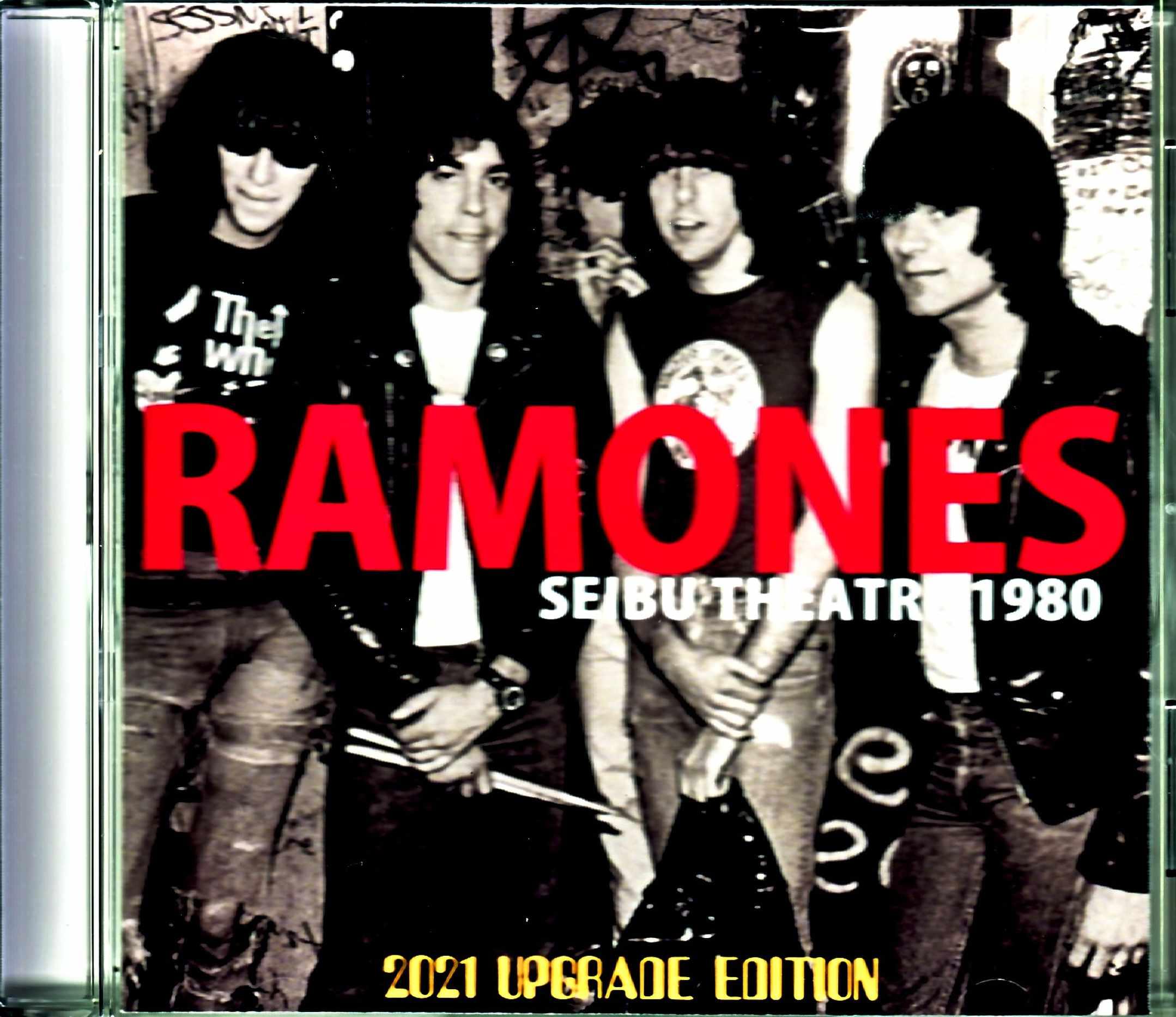 Ramones ラモーンズ/Tokyo,Japan 1980 Upgrade