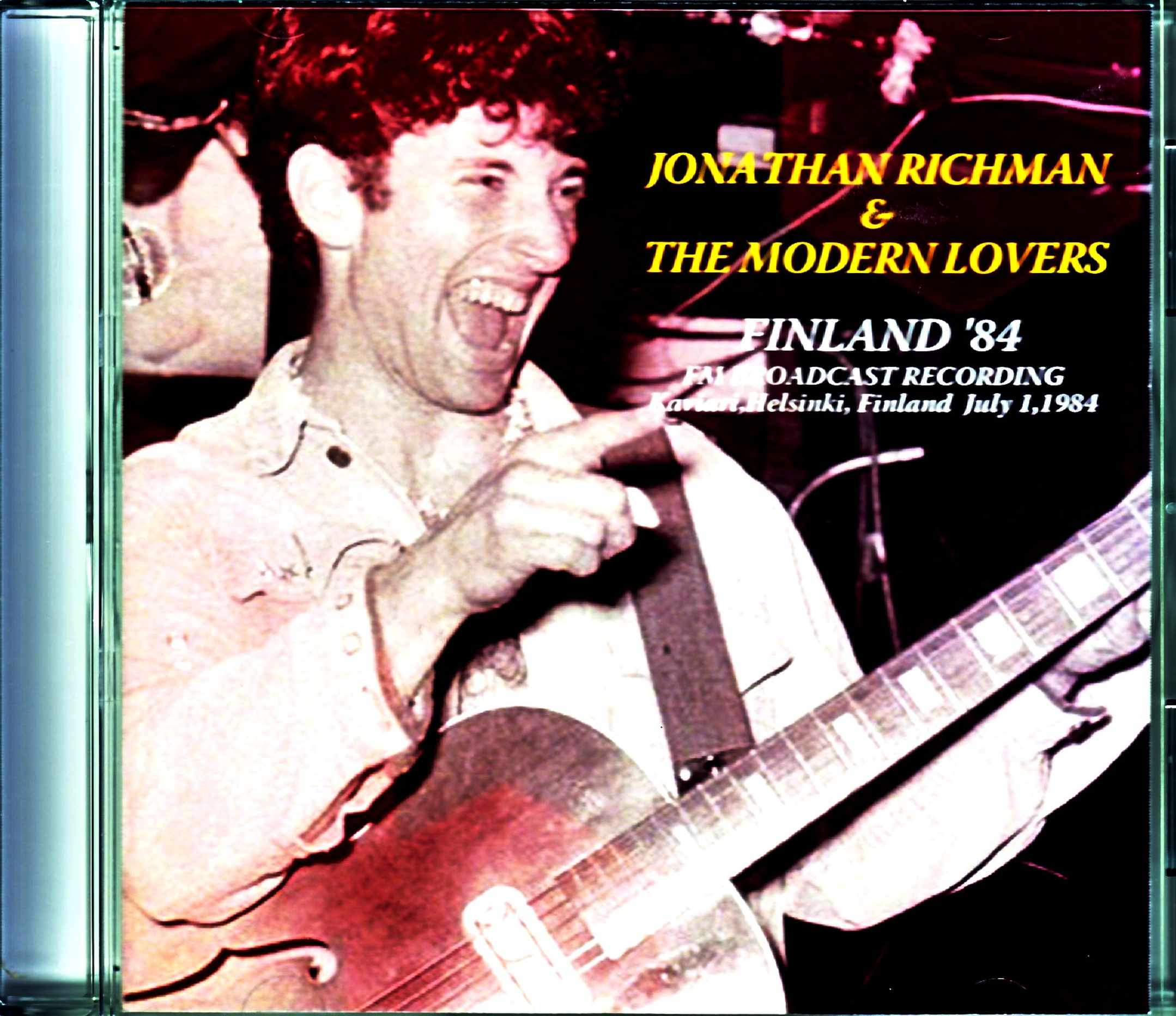 Jonathan Richman & the Modern Lovers ジョナサン・リッチマン/Finland 1984