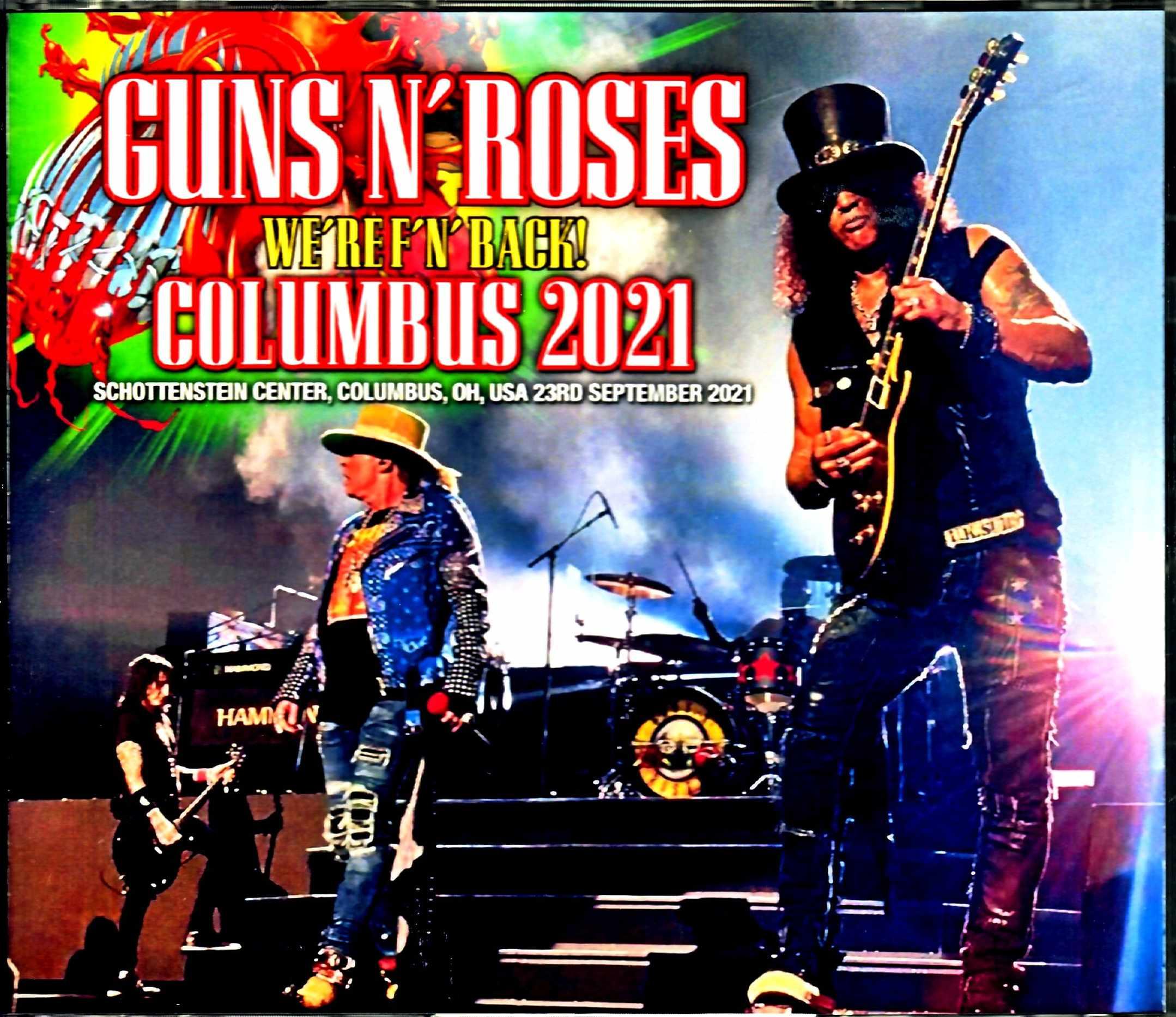 Guns N' Roses ガンズ・アンド・ローゼス/OH,USA 2021