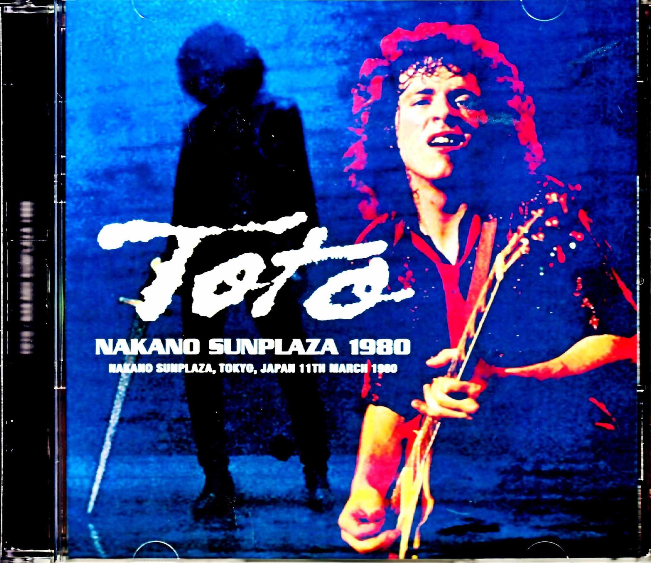 Toto トト/Tokyo,Japan 3.11.1980