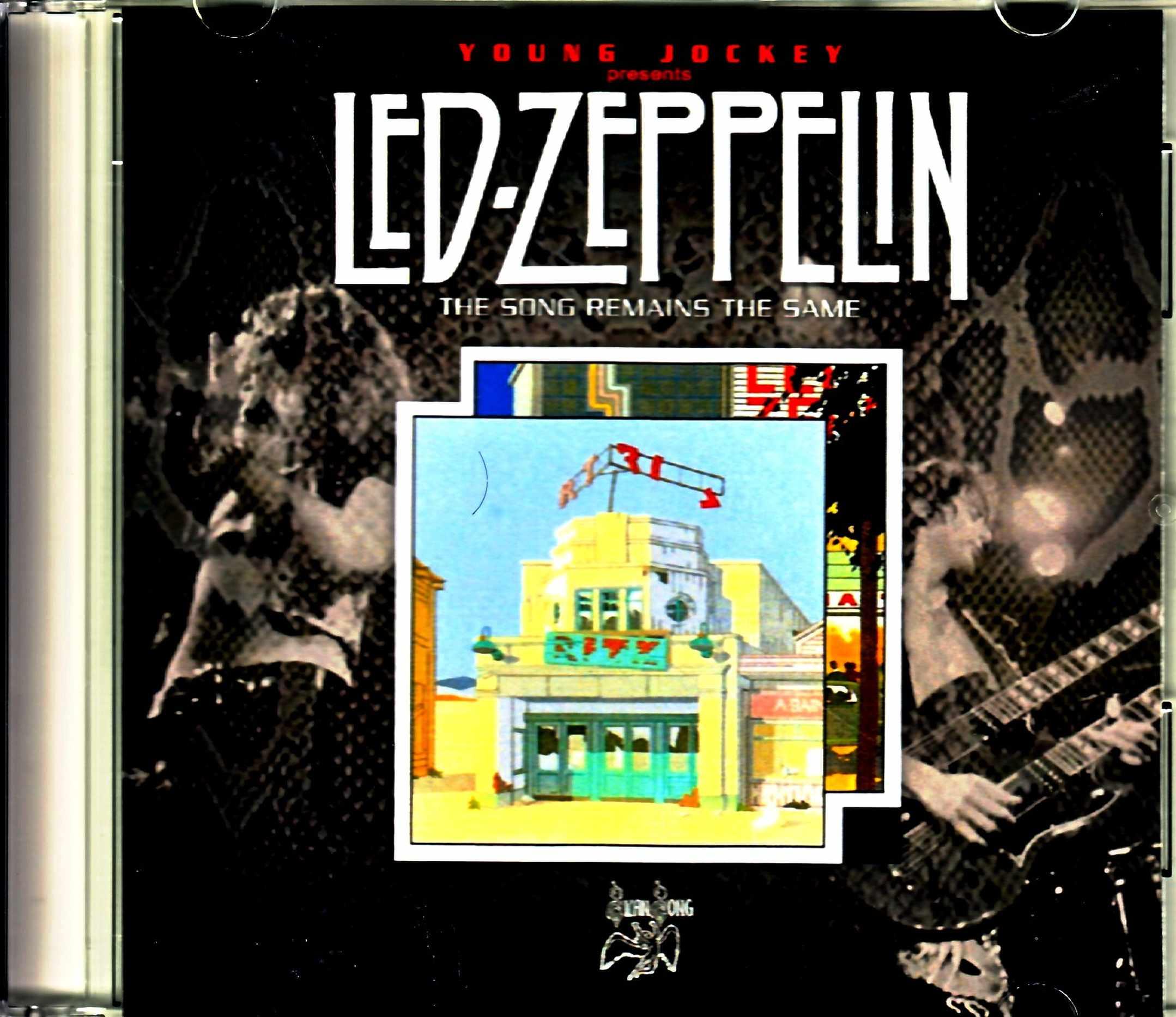 Led Zeppelin レッド・ツエッペリン/ヤング・ジョッキー Broadcast 1976