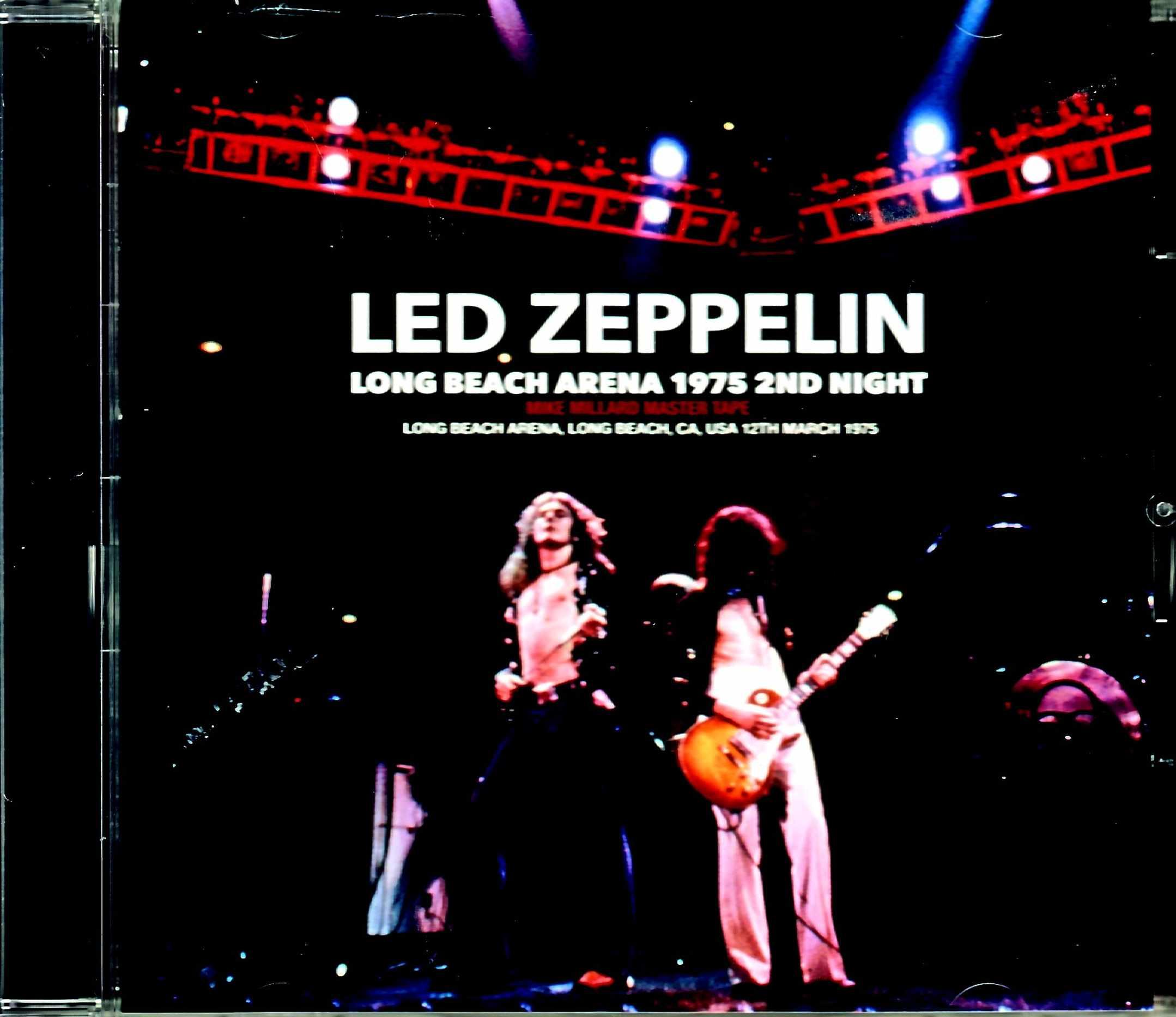 Led Zeppelin レッド・ツエッペリン/CA,USA 3.12.1975 Mike Millard Master Tapes