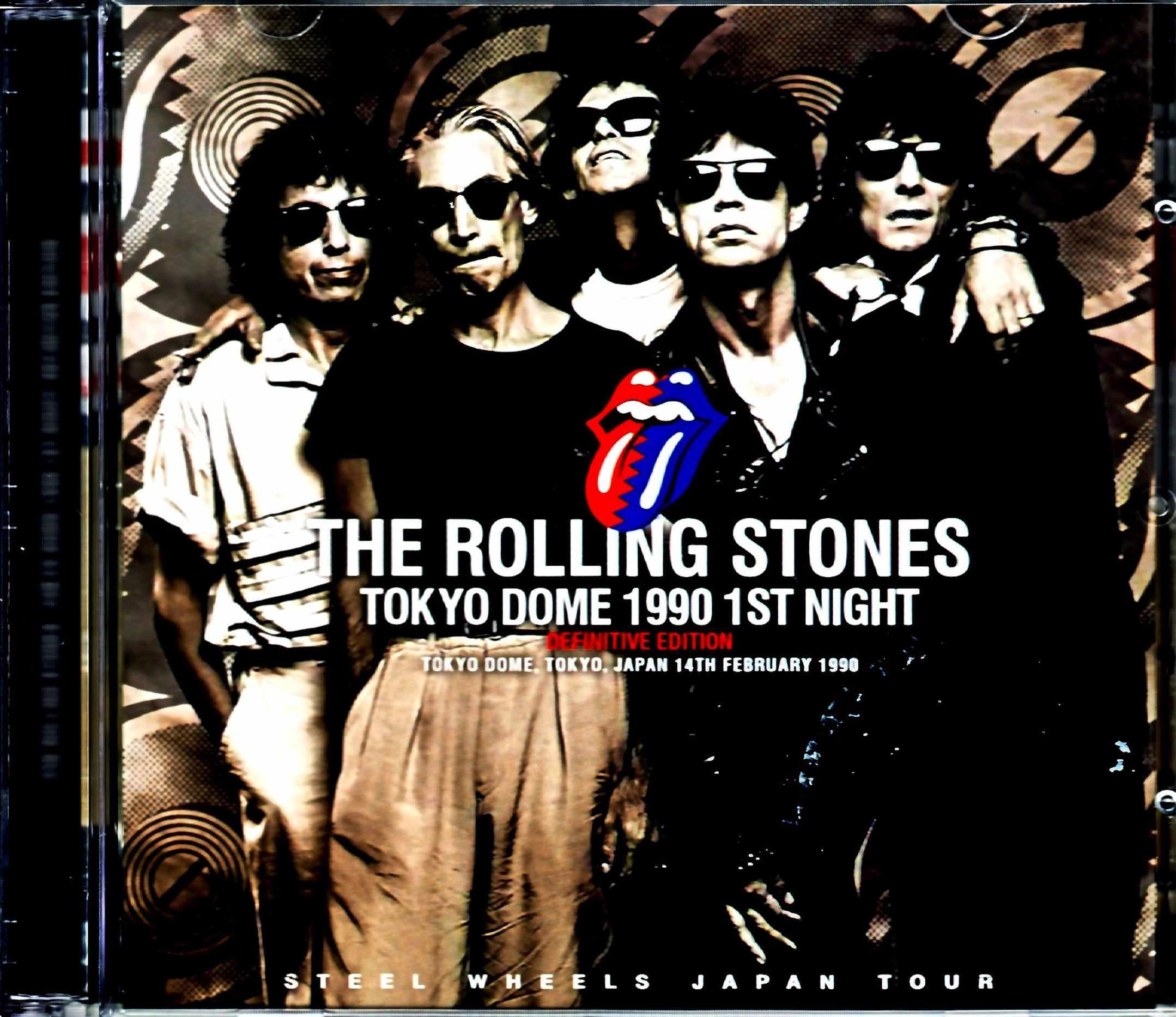 Rolling Stones ローリング・ストーンズ/Tokyo,Japan 2.14.1990 Upgrade