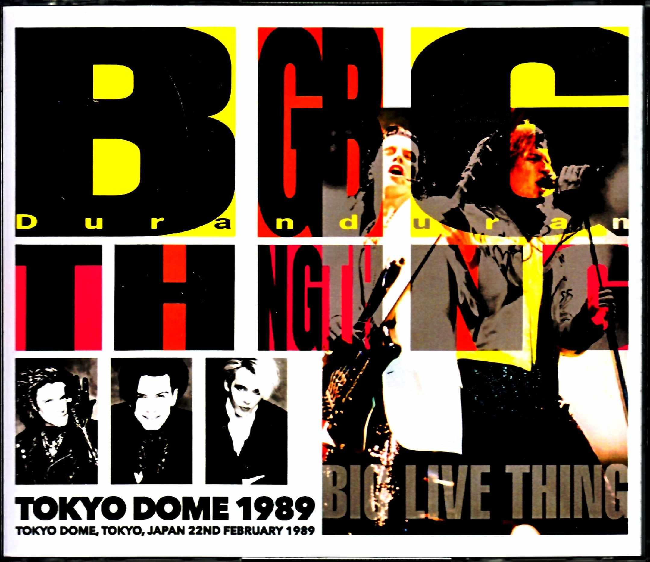 Duran Duran デュラン・デュラン/Tokyo,Japan 1989 S & V