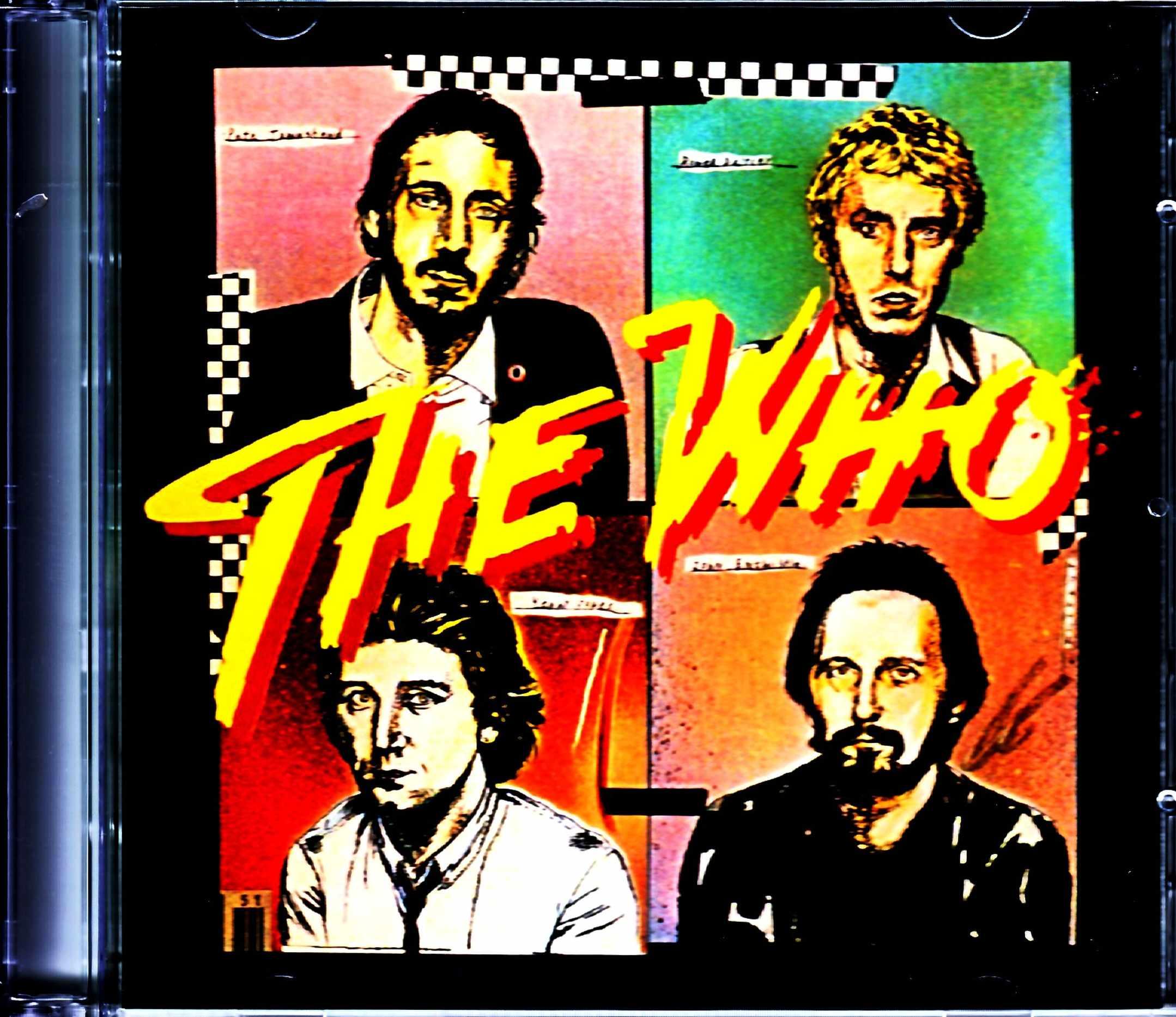 Who,The ザ・フー/NY,USA 1979 Original LP Complete