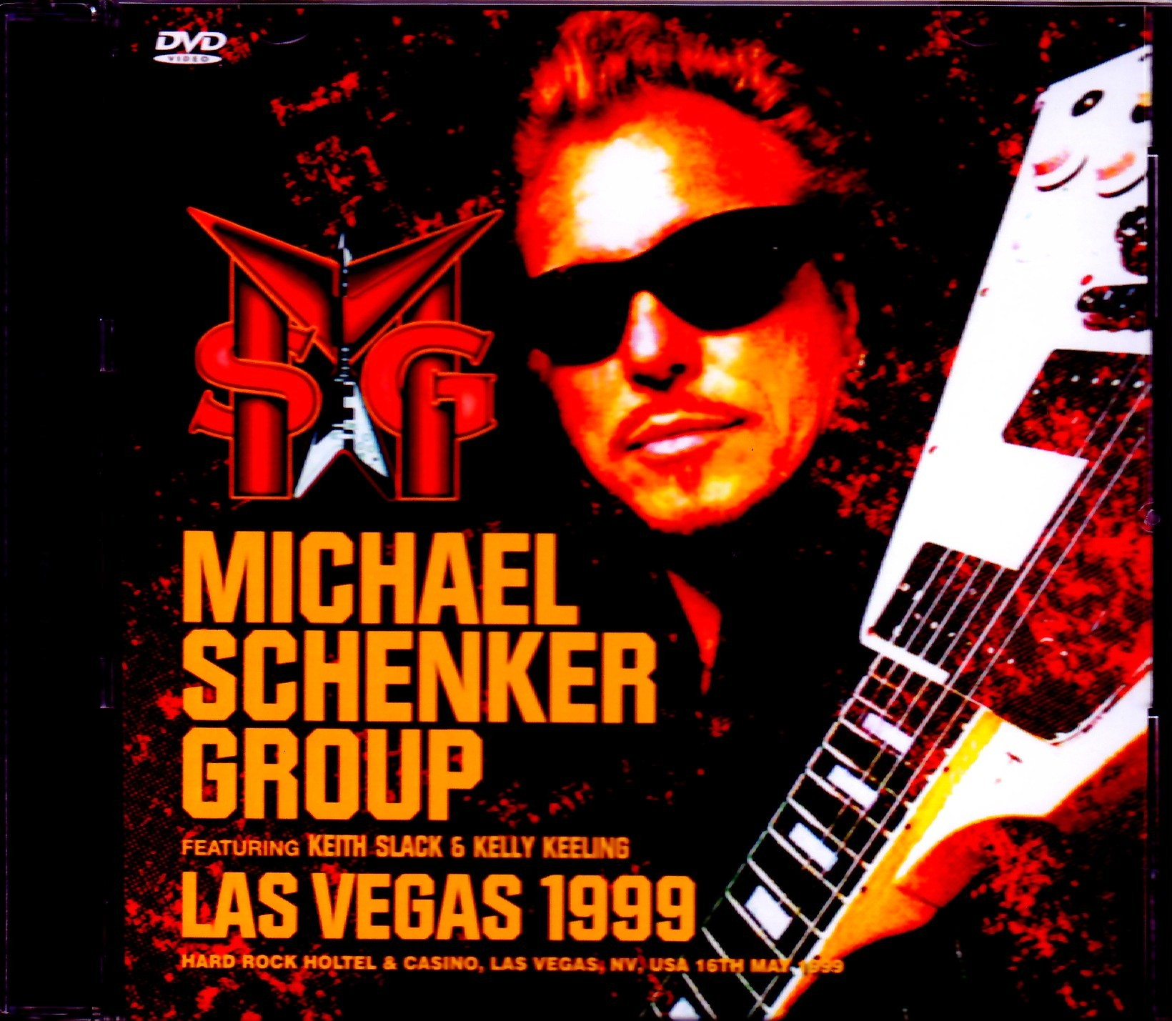 Michael Schenker Group マイケル・シェンカー/NV,USA 1999