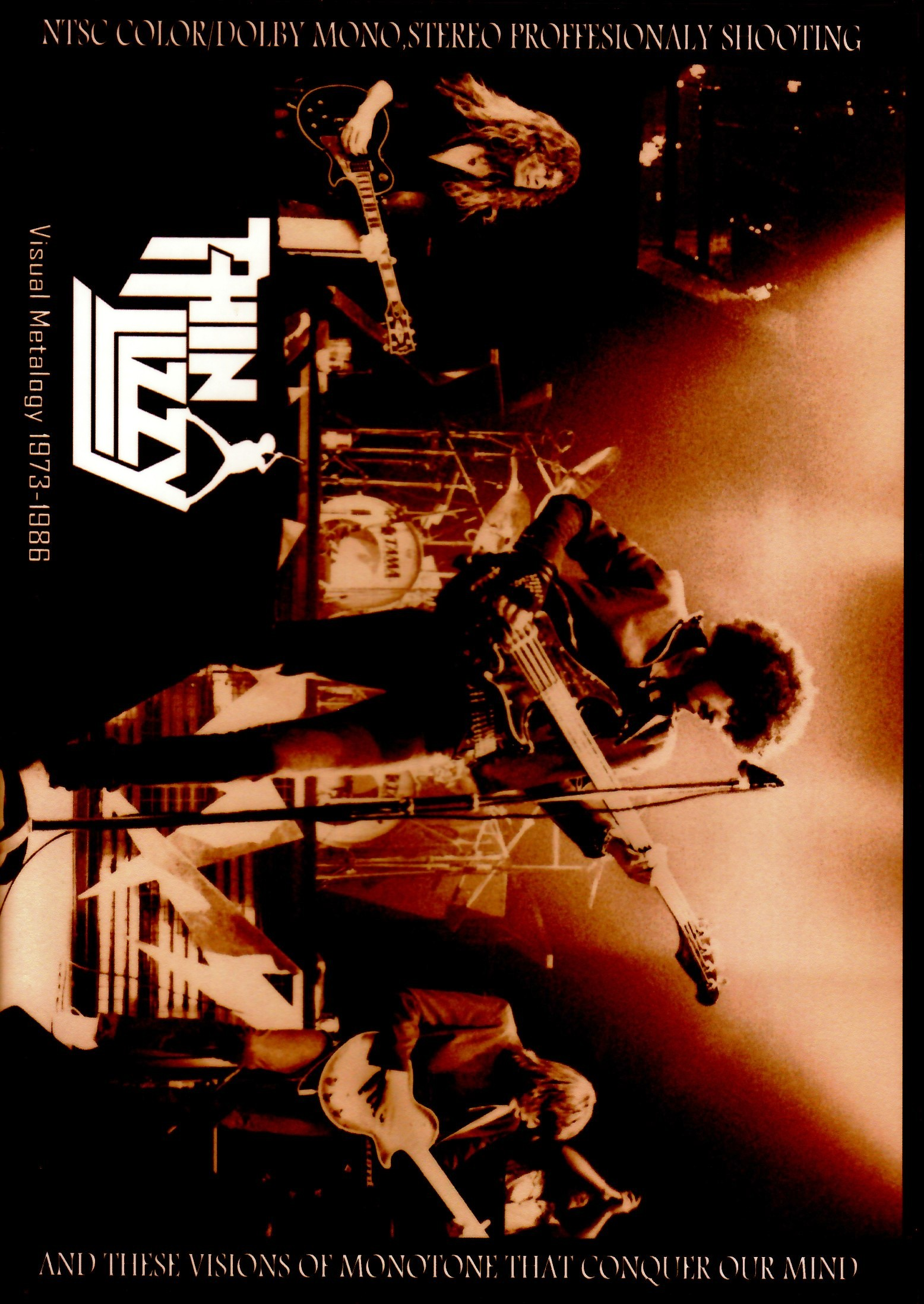 Thin Lizzy シン・リジィ/Visual Metalogy 1973-1986