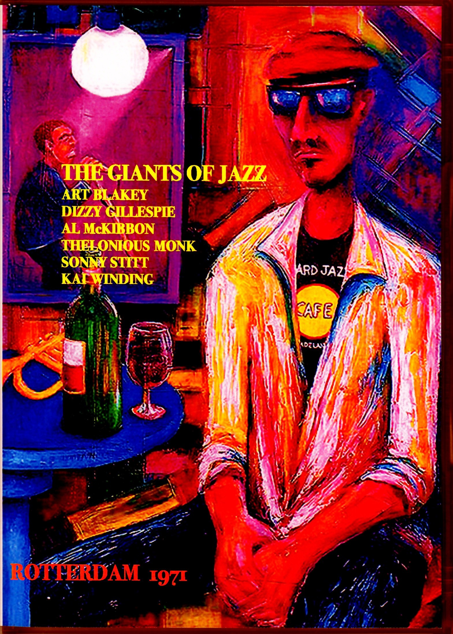 Giants of Jazz,Art Blakey,Dizzy Gillespie,Thelonious Monk/Netherlands 1971 & more
