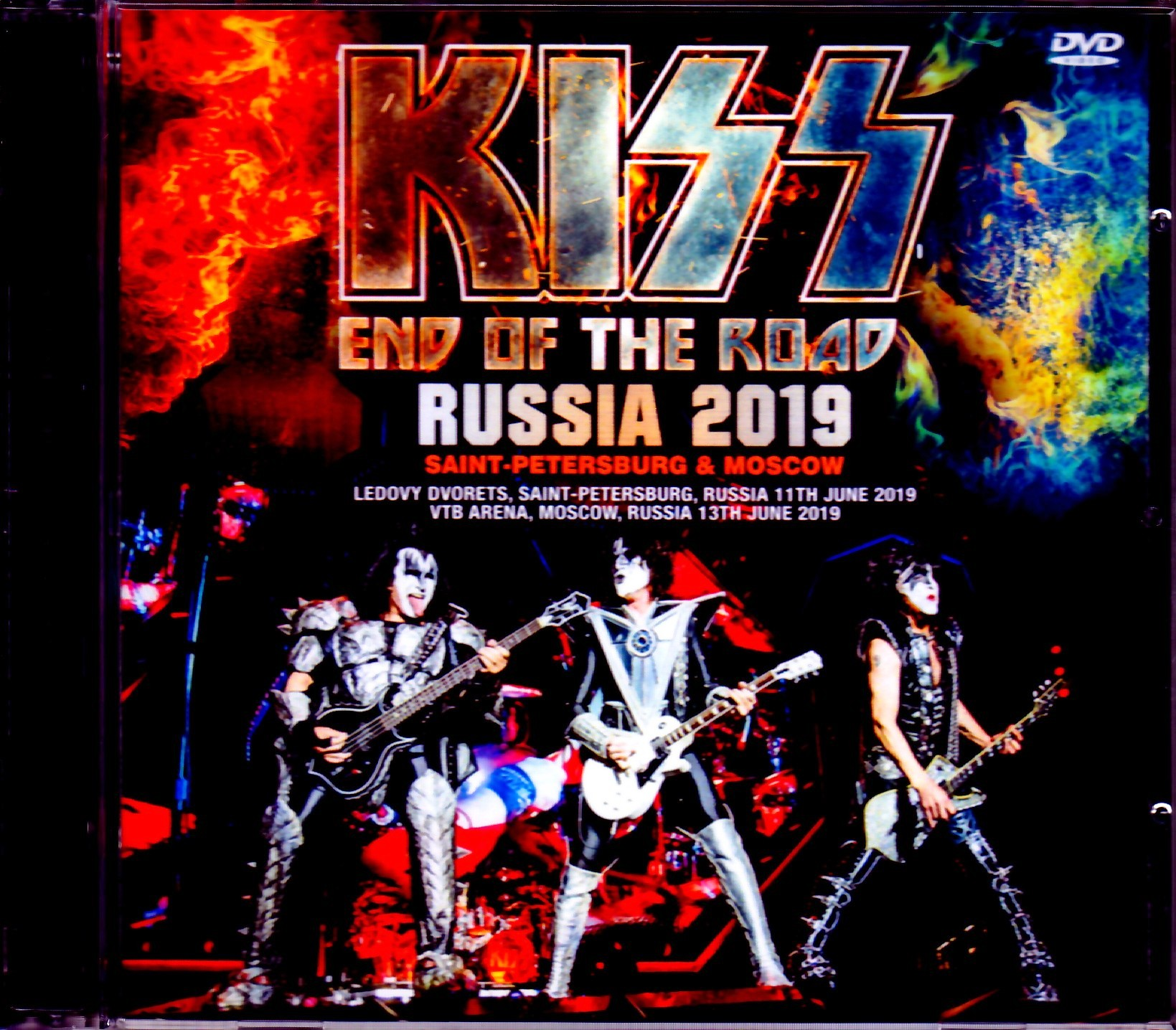 Kiss キッス/Russia 2019 2 Days