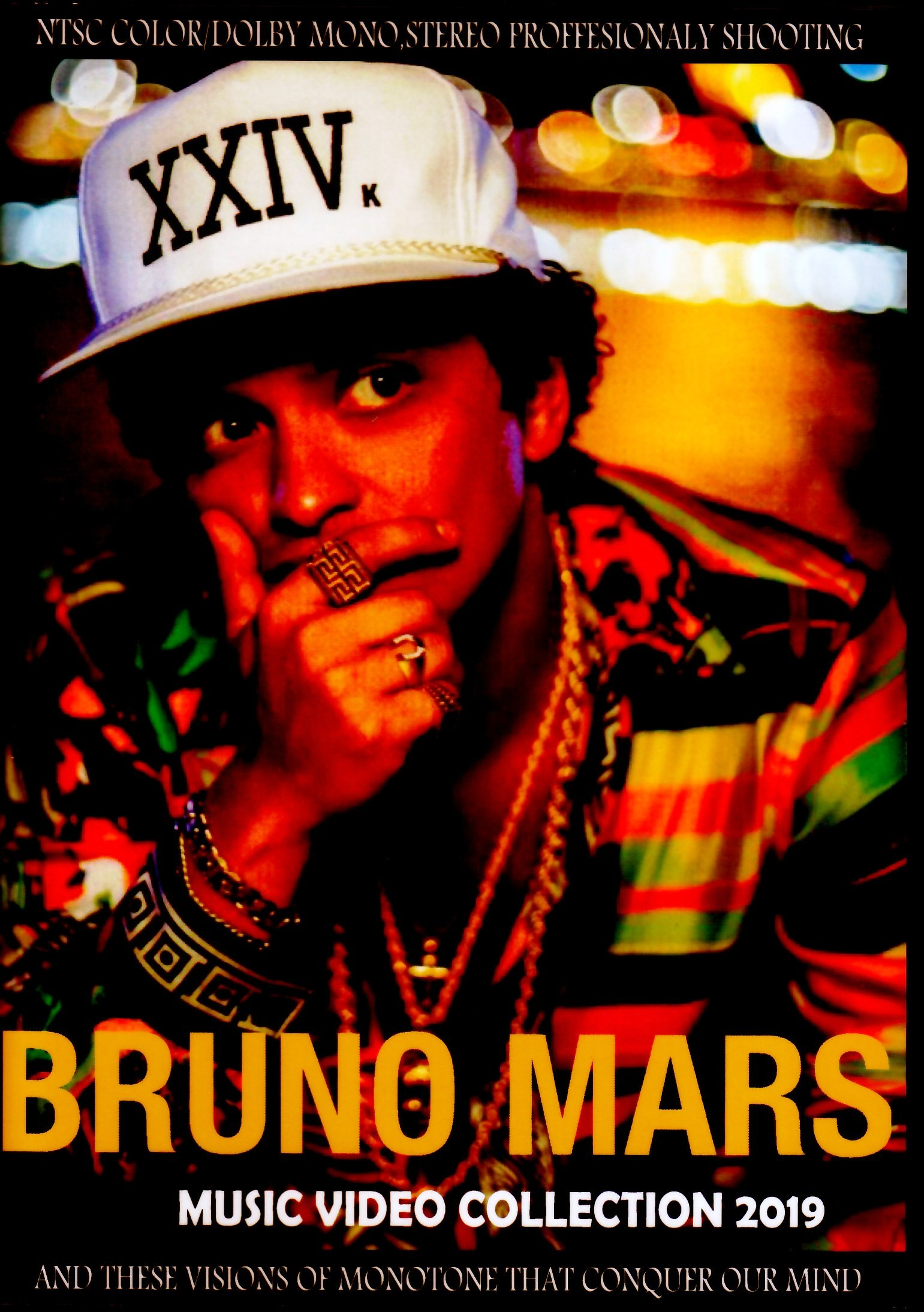 Bruno Mars ブルーノ・マーズ/Music Video Collection 2019