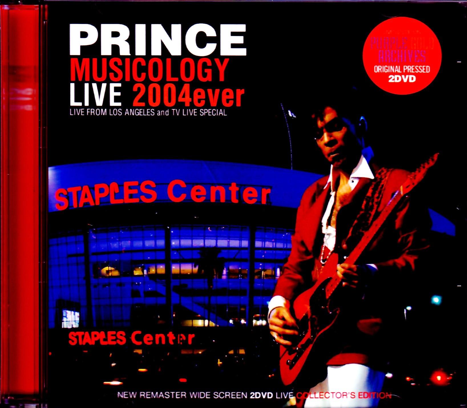 Prince プリンス/CA,USA 2004 & Pro-Shot Collection 2004